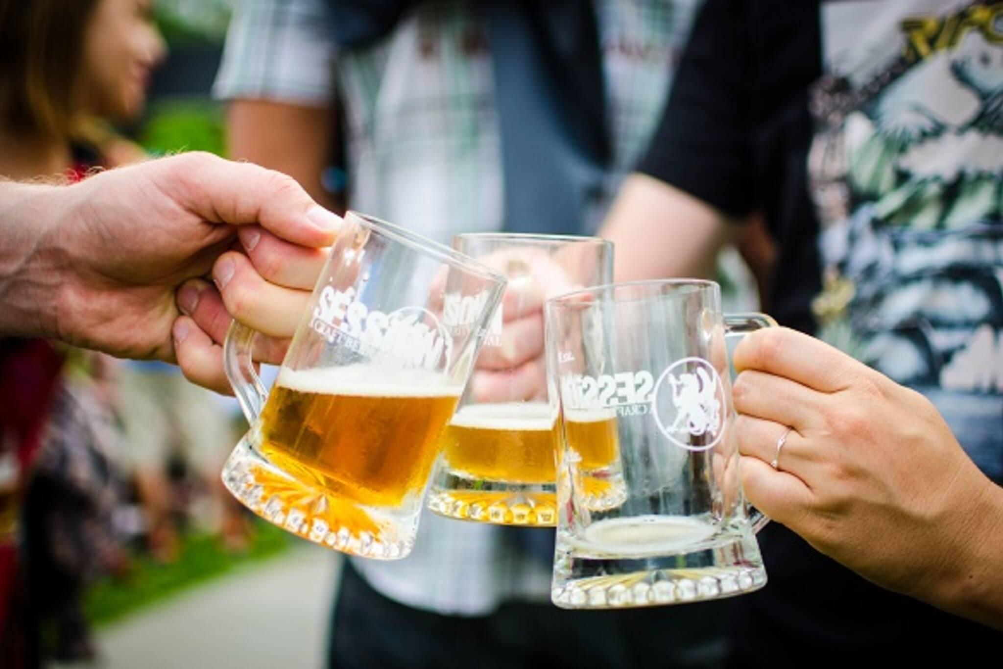 beer garden toronto