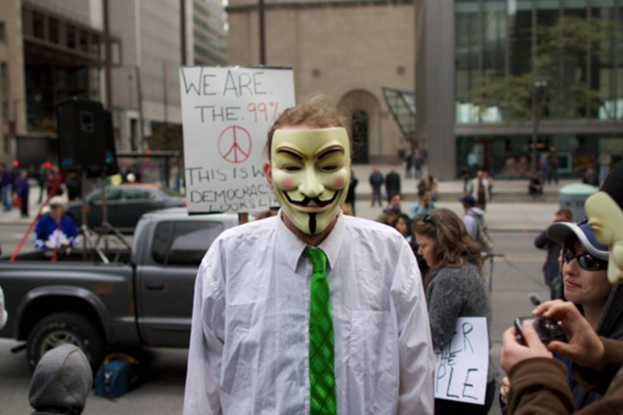 Anonymous Occupy Toronto