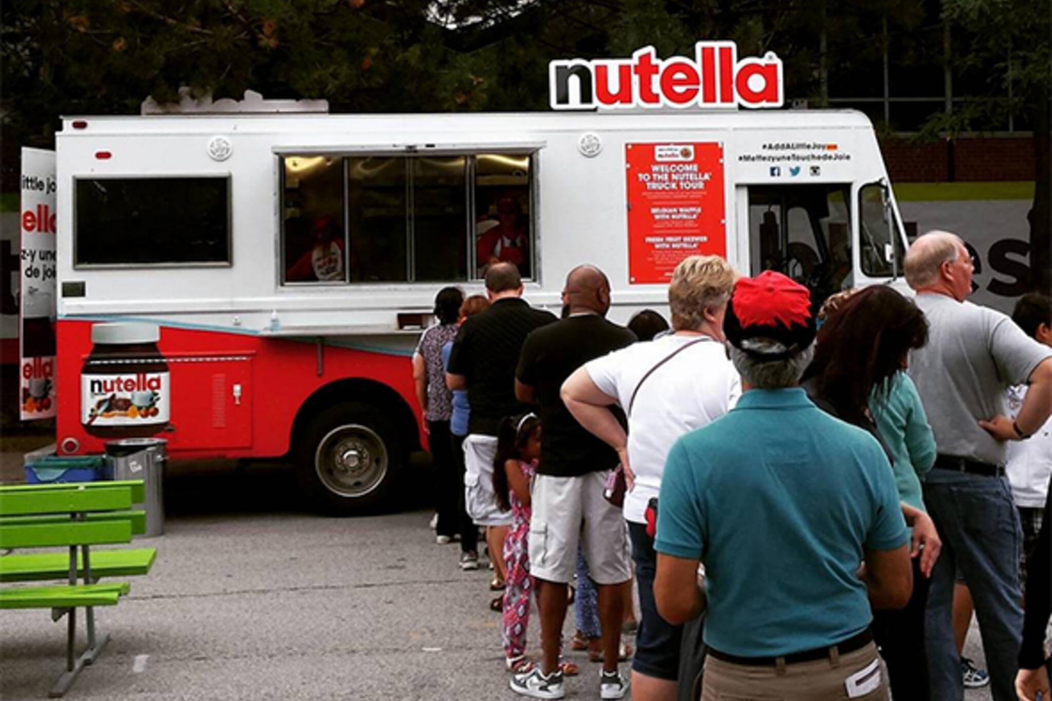 Nutella food truck