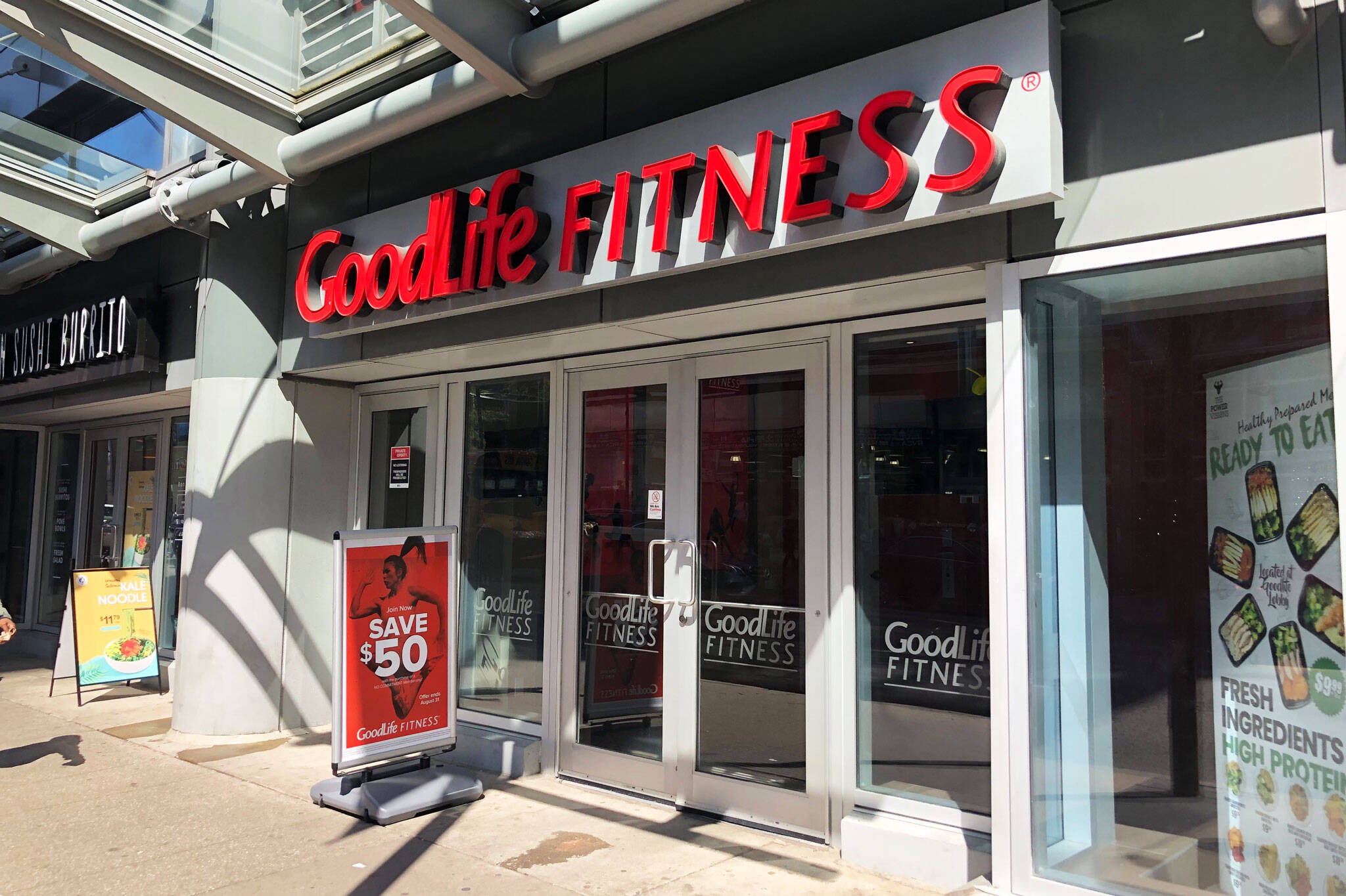goodlife fitness toronto