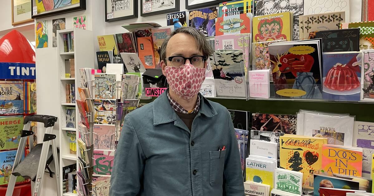 Meet the proprietor of Toronto's coolest comics store