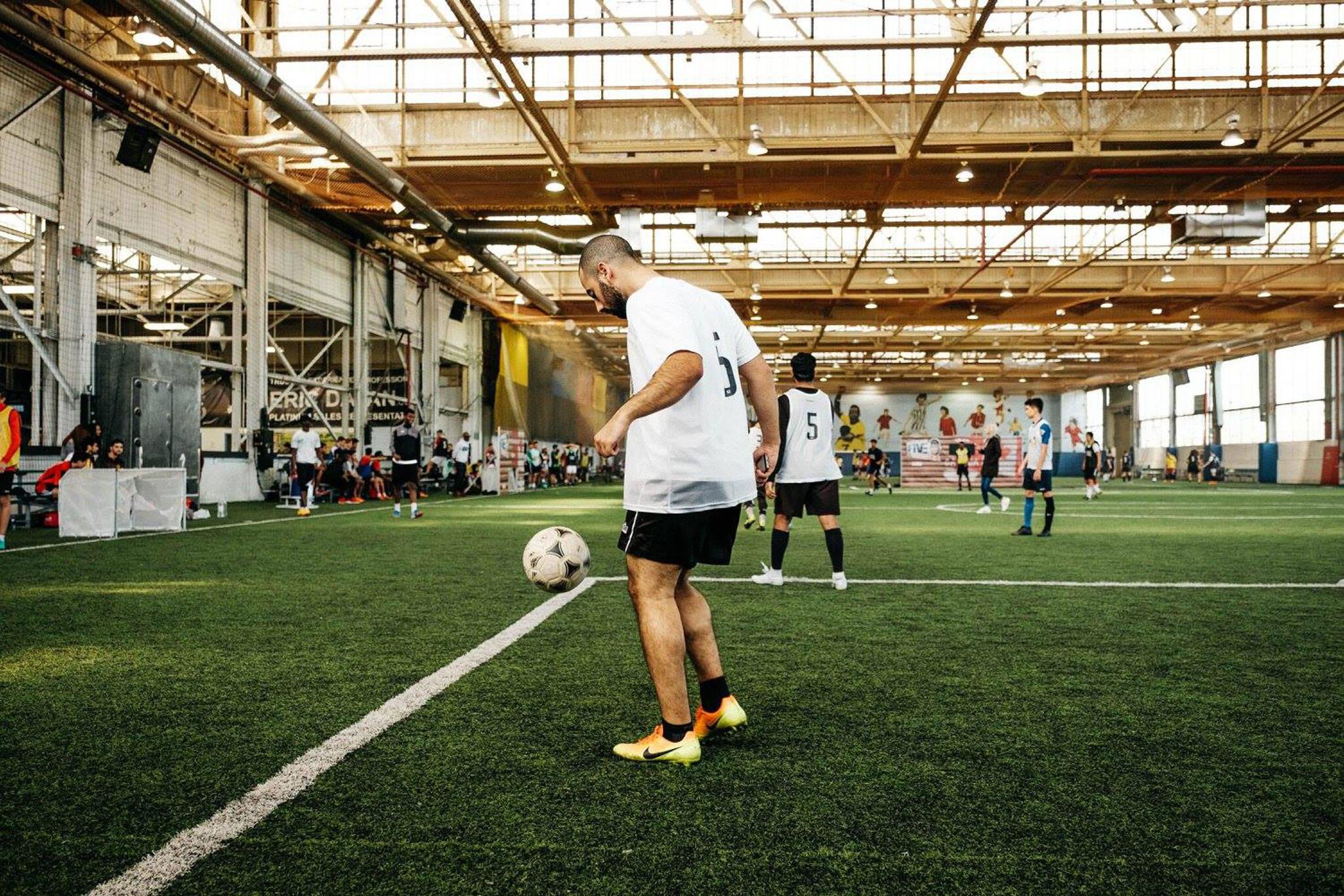 indoor sports fields toronto