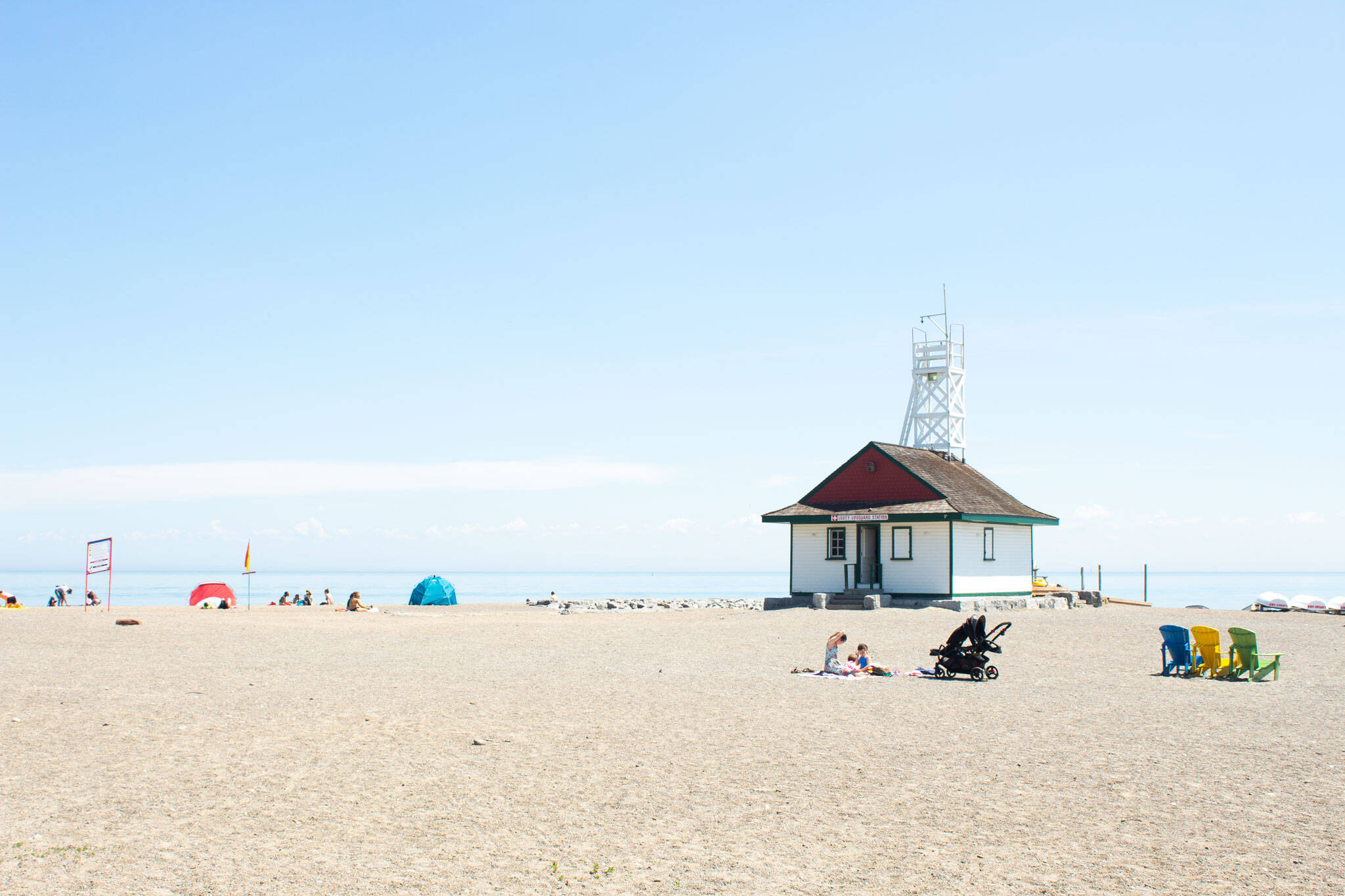 Ontario beaches open
