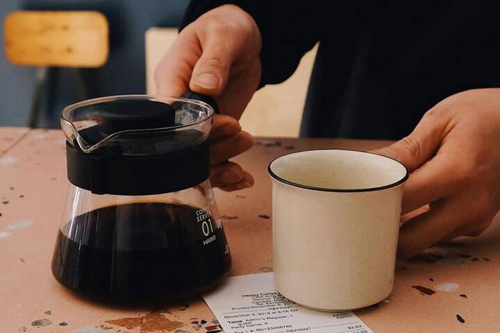 Happy Coffee and Wine