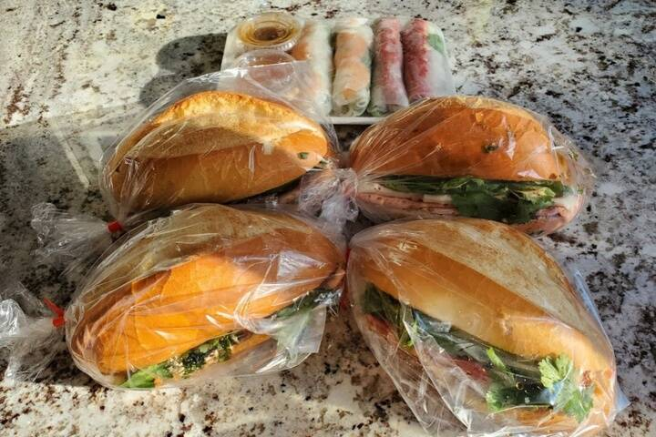 Rose's Vietnamese Sandwiches