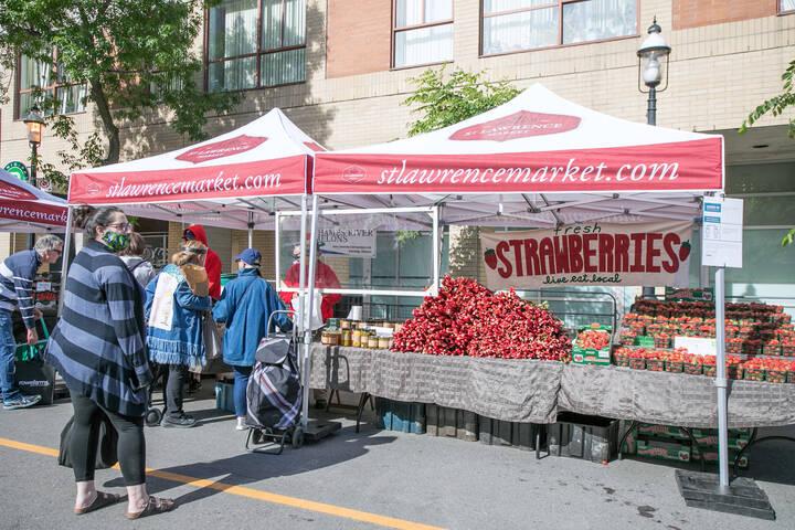 St. Lawrence Market Saturdays
