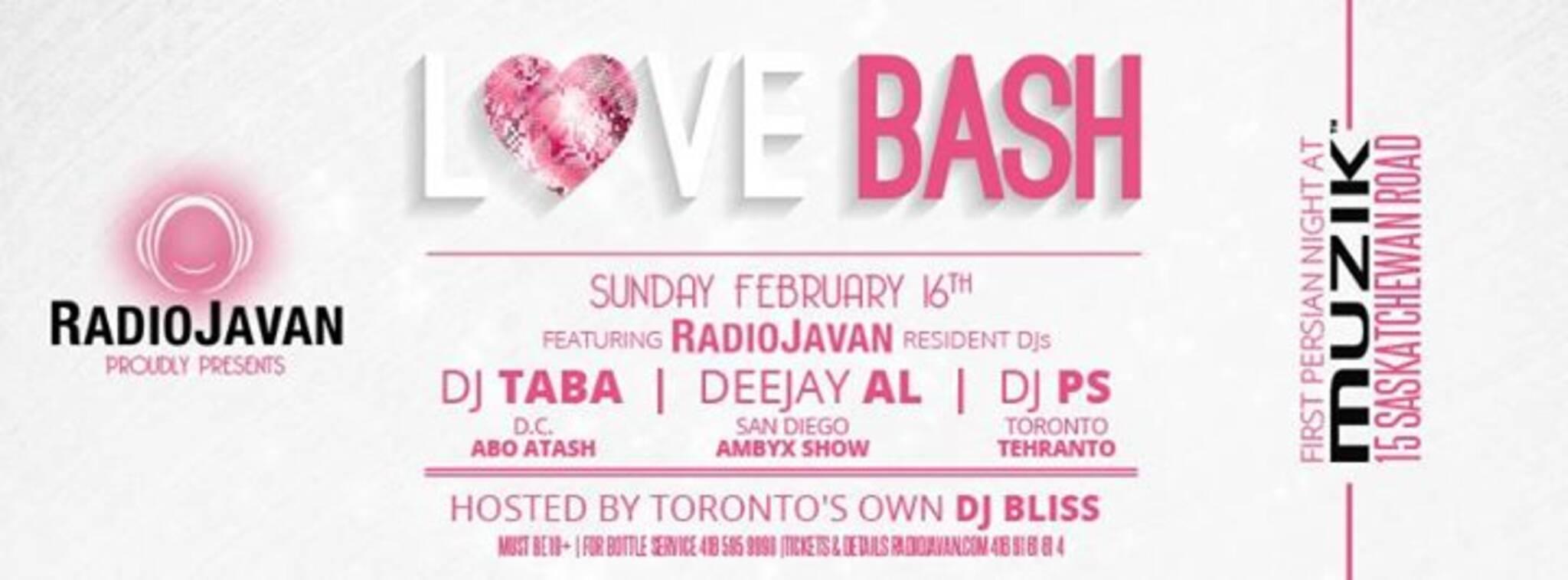 RADIO JAVAN @ MUZIK Nightclub - LOVE BASH
