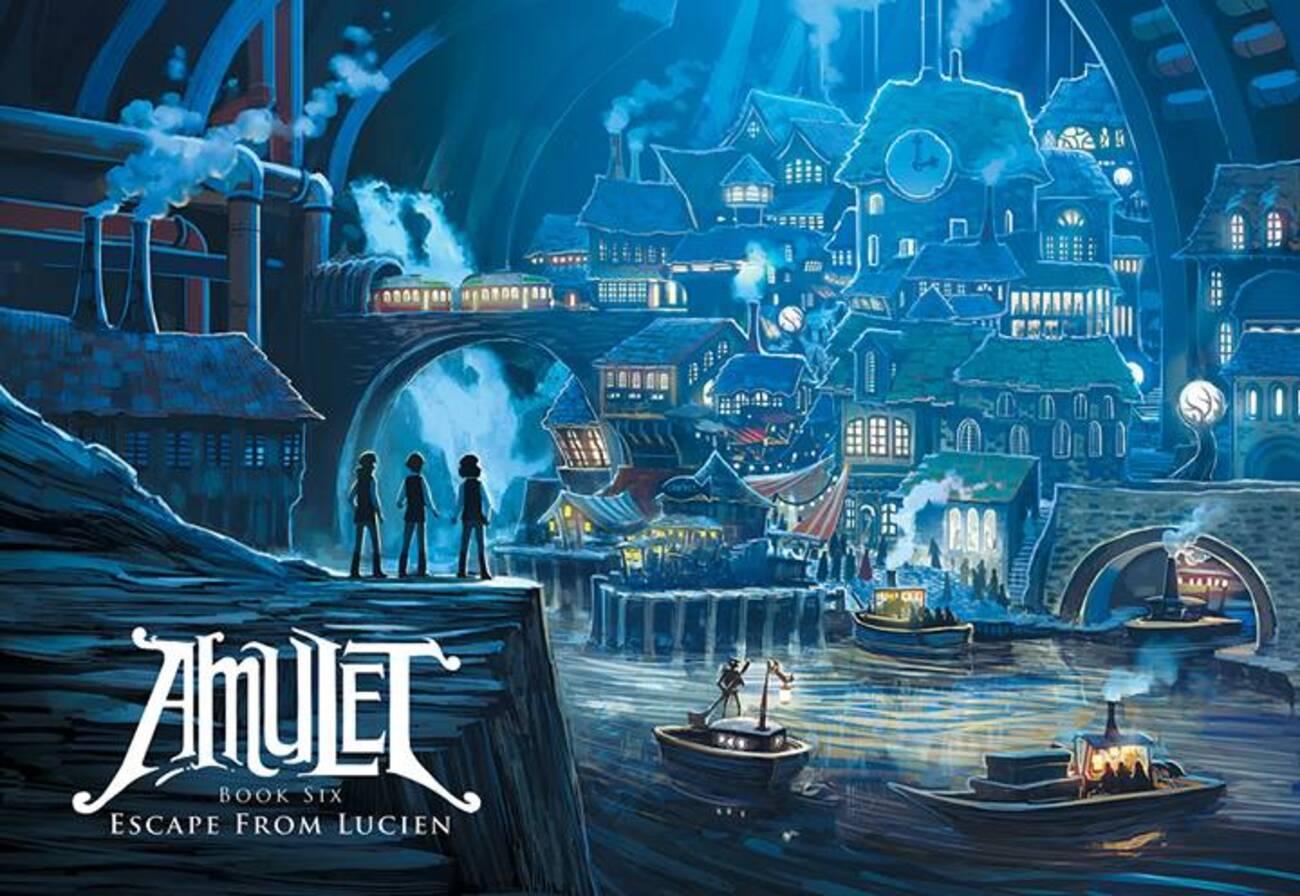 kazu kibuishi launches amulet book six
