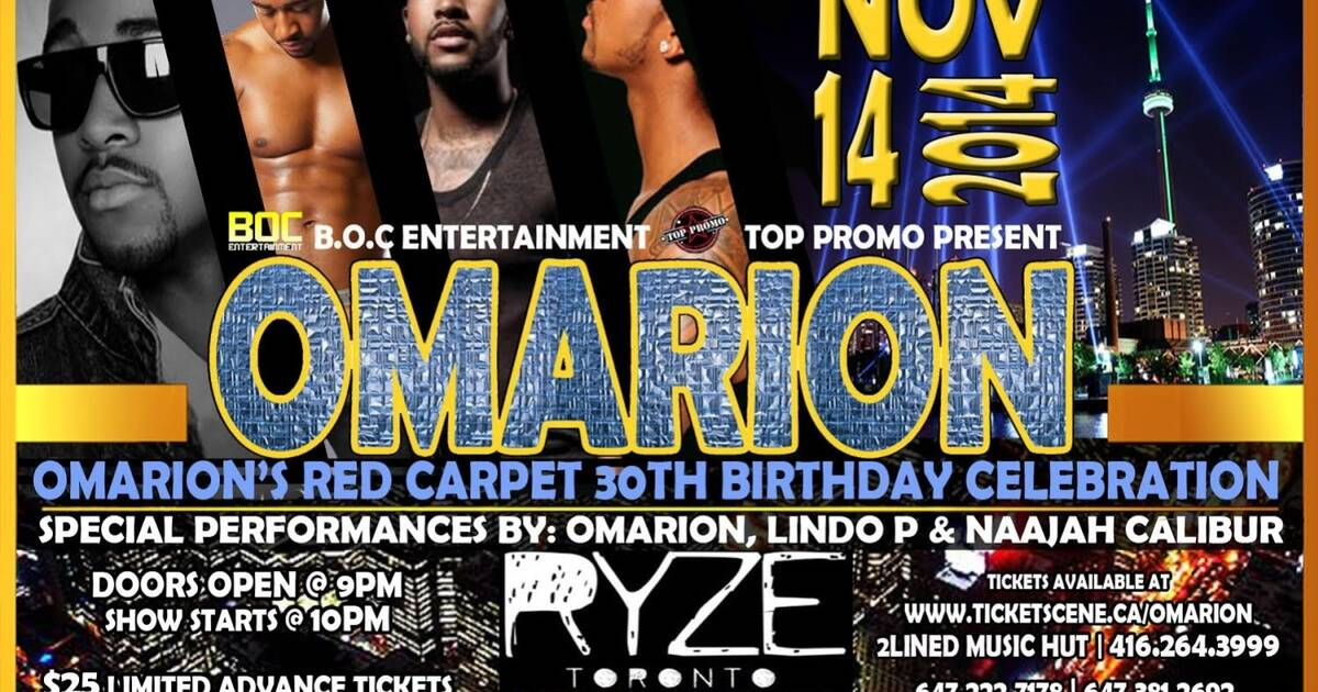 Omarion Live in Toronto
