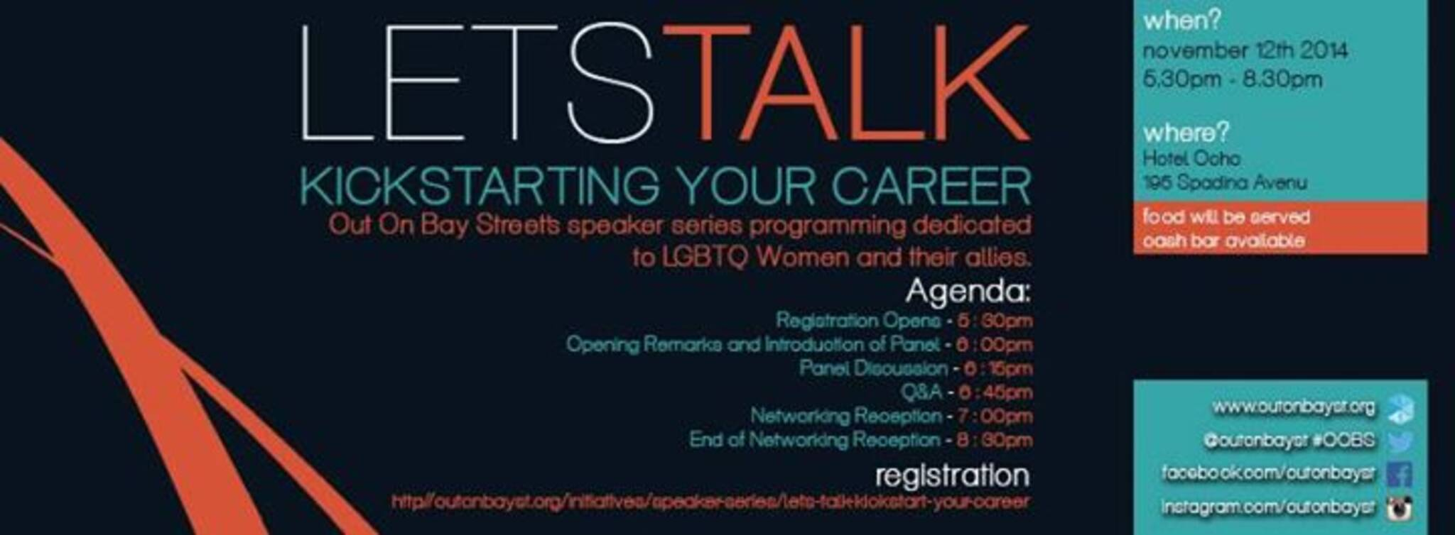 cf14bbe3093 Lets Talk Kickstart Your Career - Presented By TD Bank