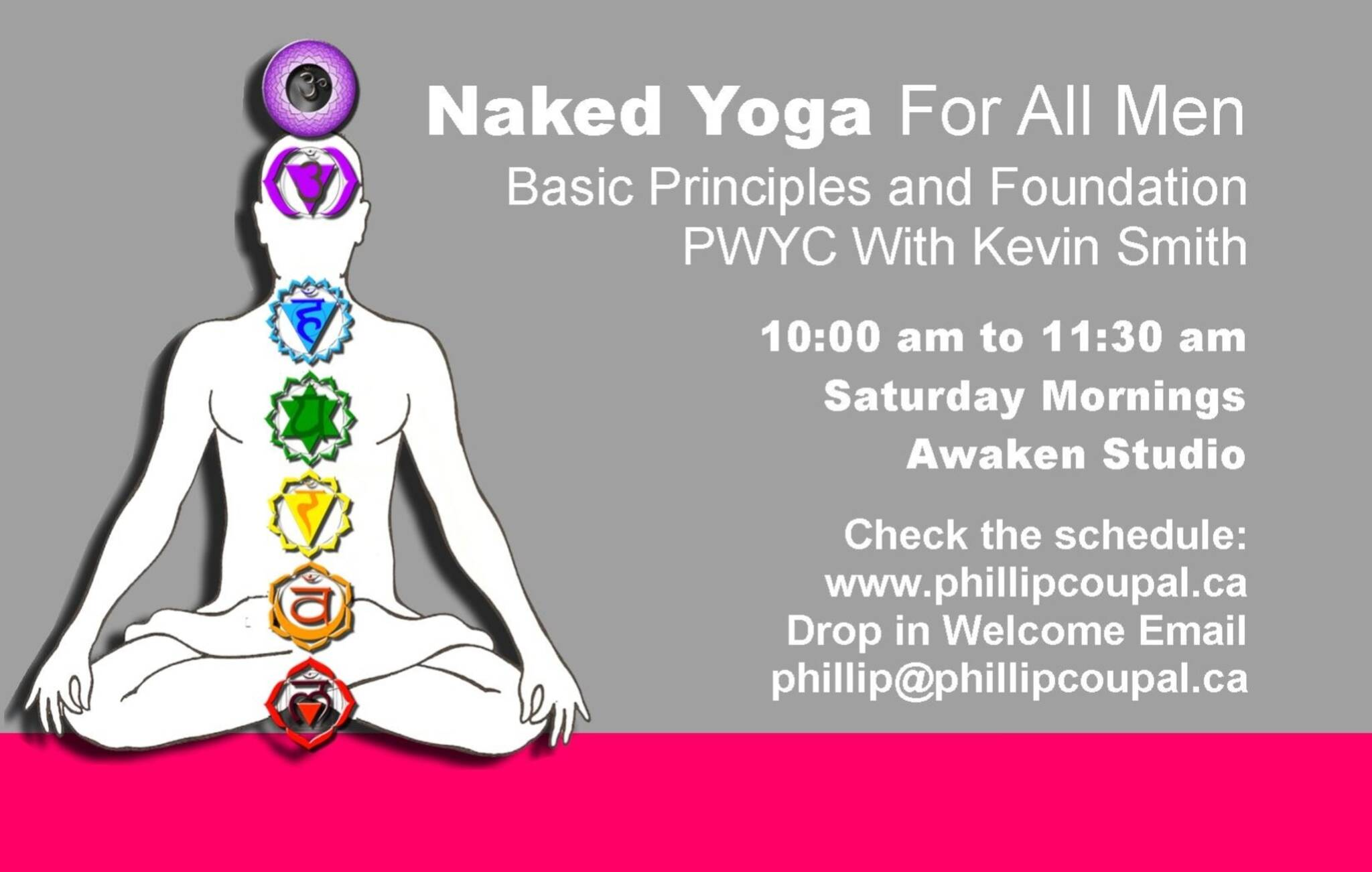 Naked Yoga For All Men Saturday Morning With Kevin Smith At The Awake Studio Toronto