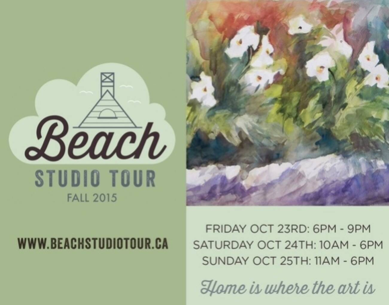 beach studio tour fall 2015. Black Bedroom Furniture Sets. Home Design Ideas