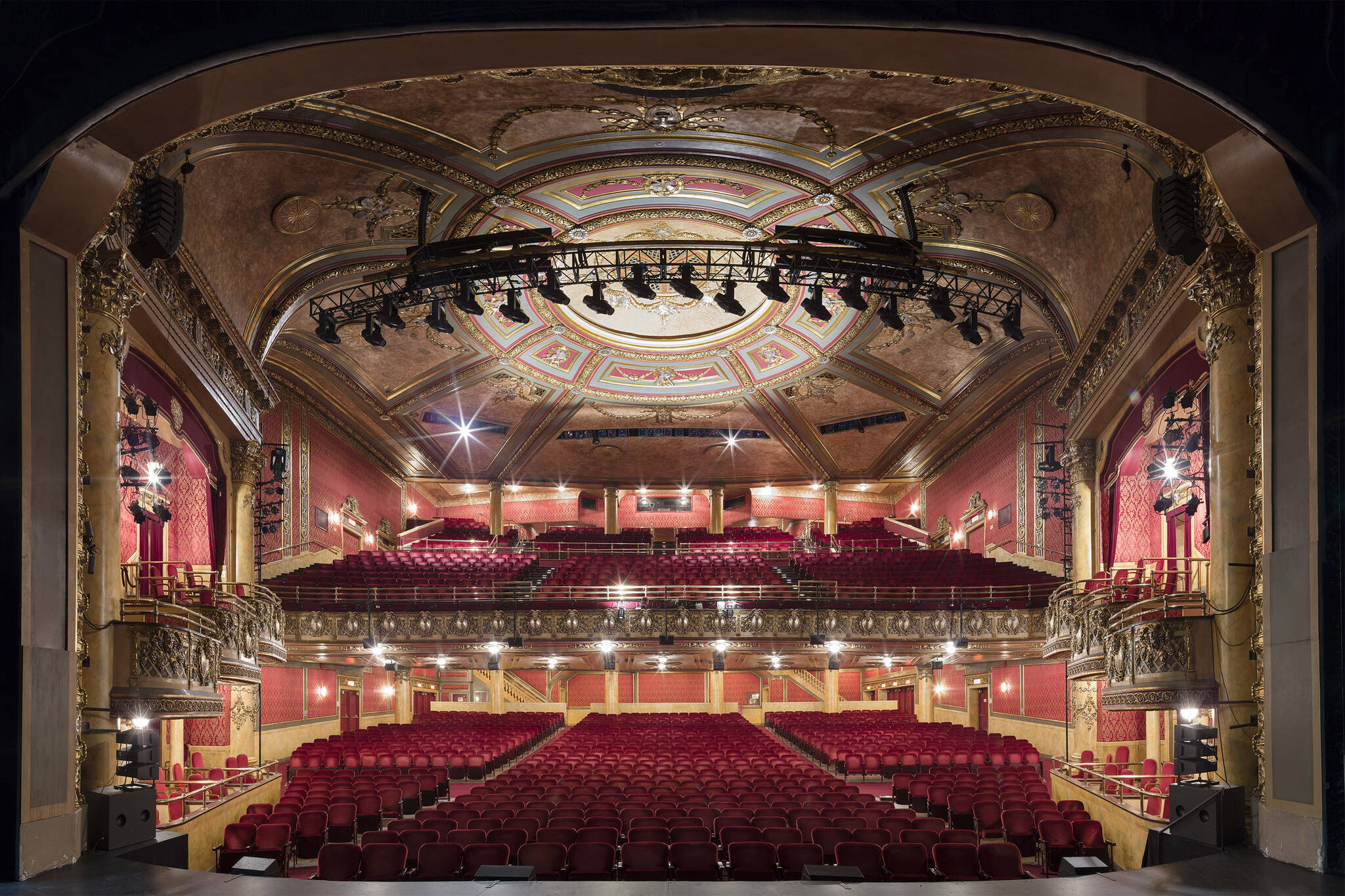 Free tours of the elgin and winter garden theatre centre - Winter garden theater seating chart ...