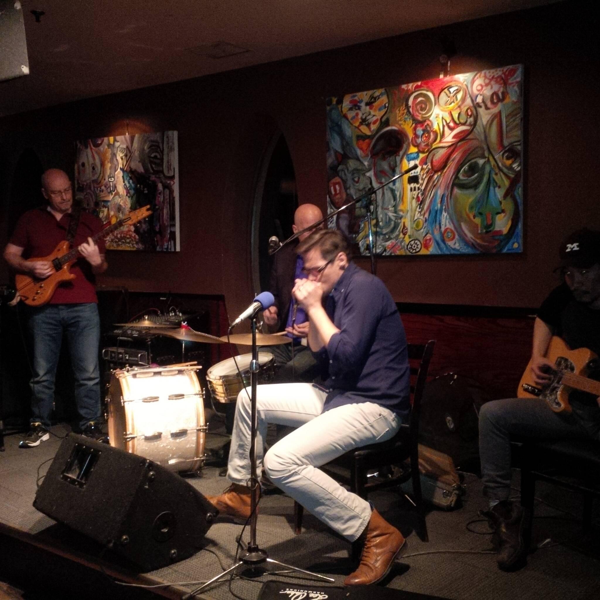 Midtown Blues Jam with Mark