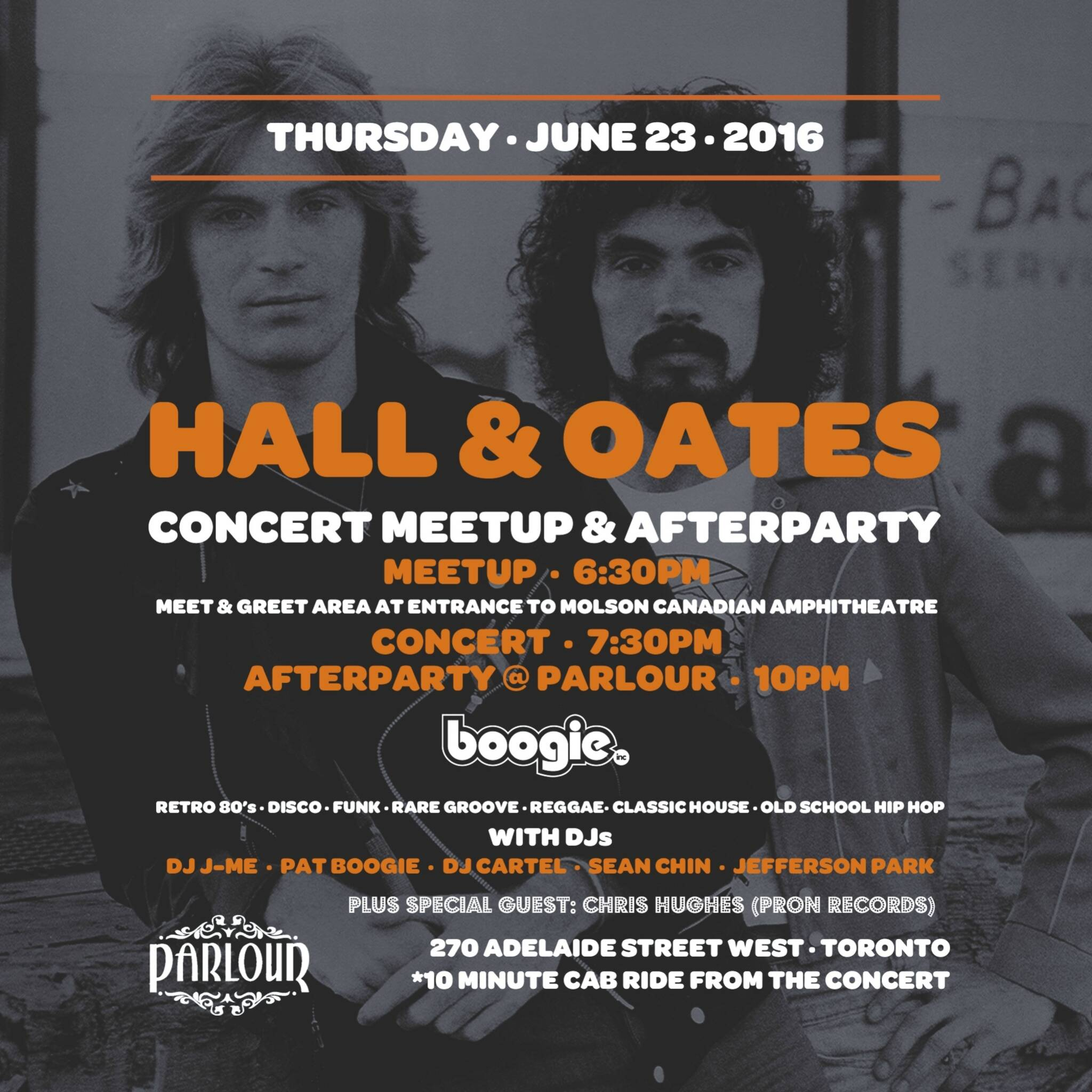 Hall oates concert meetup afterparty m4hsunfo