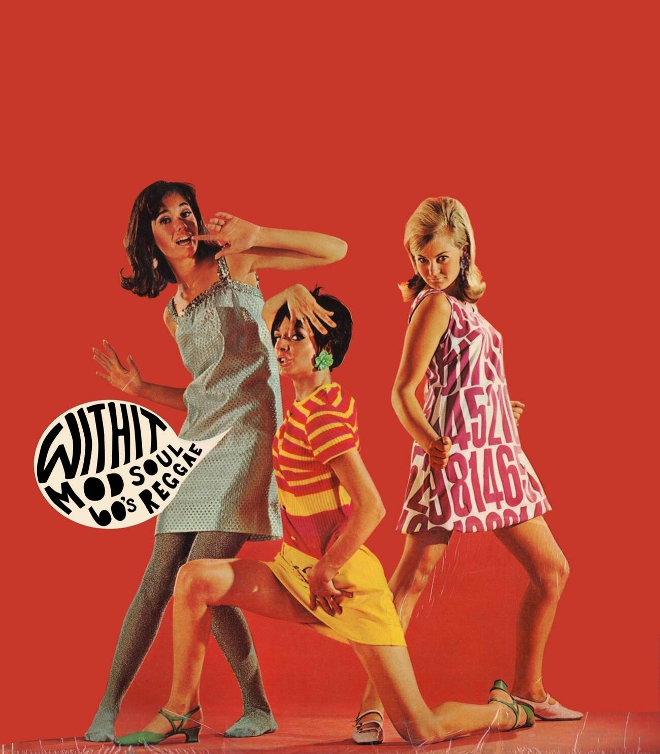 60s Mod Soul Reggae Record Dance Party With It