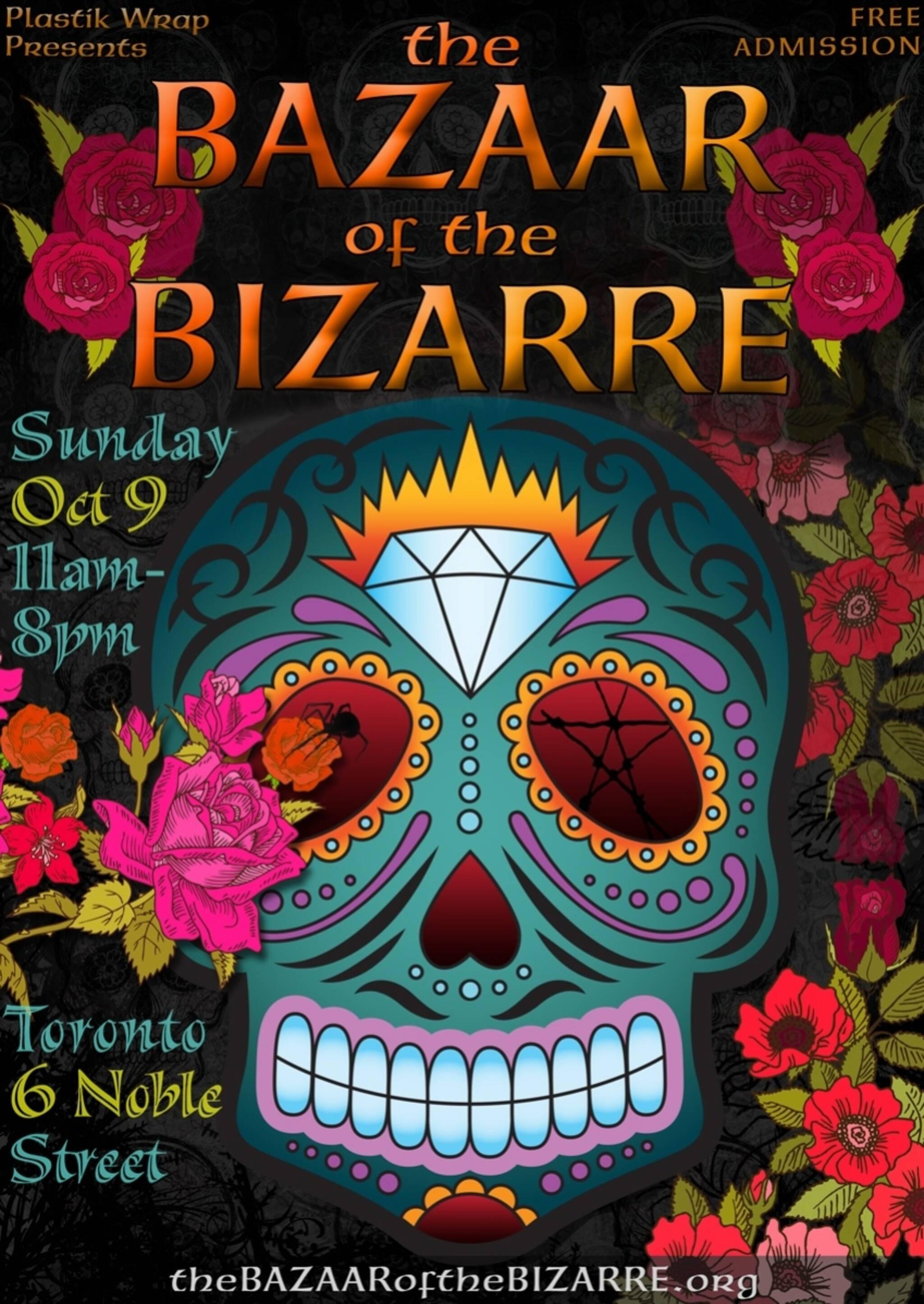 the bazaar of the bizarre halloween extravaganza 2016