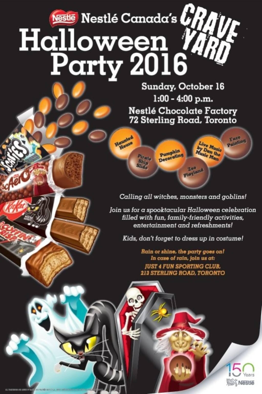 Nestle Canada's Craveyard Halloween Party