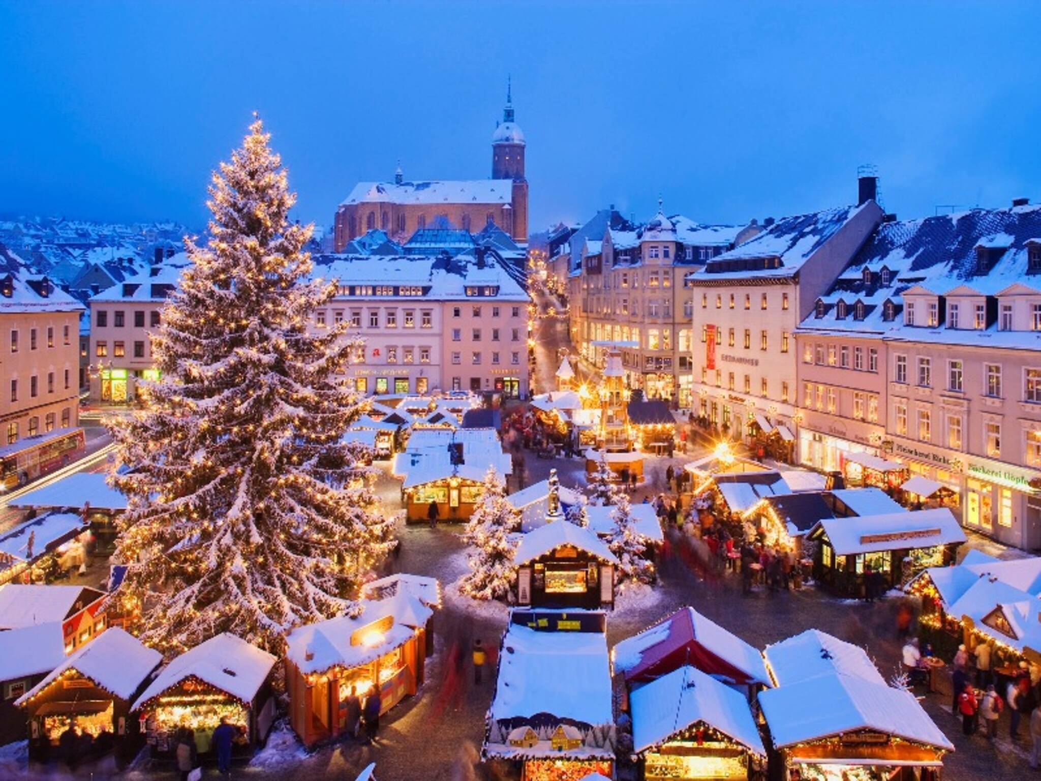 Christmas In Sweden.Swedish Christmas Fair