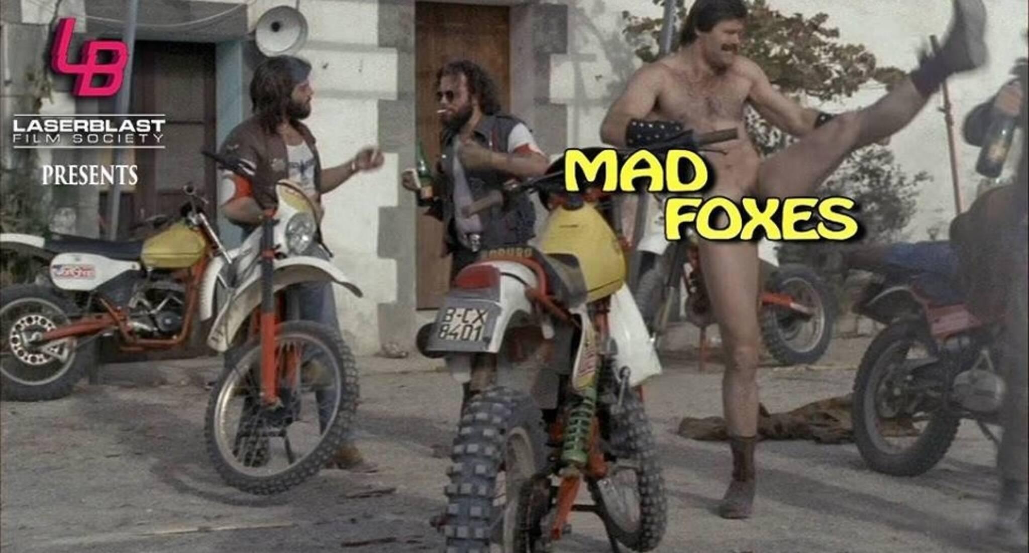 Andrea Albani laser blast film society: mad foxes at the royal