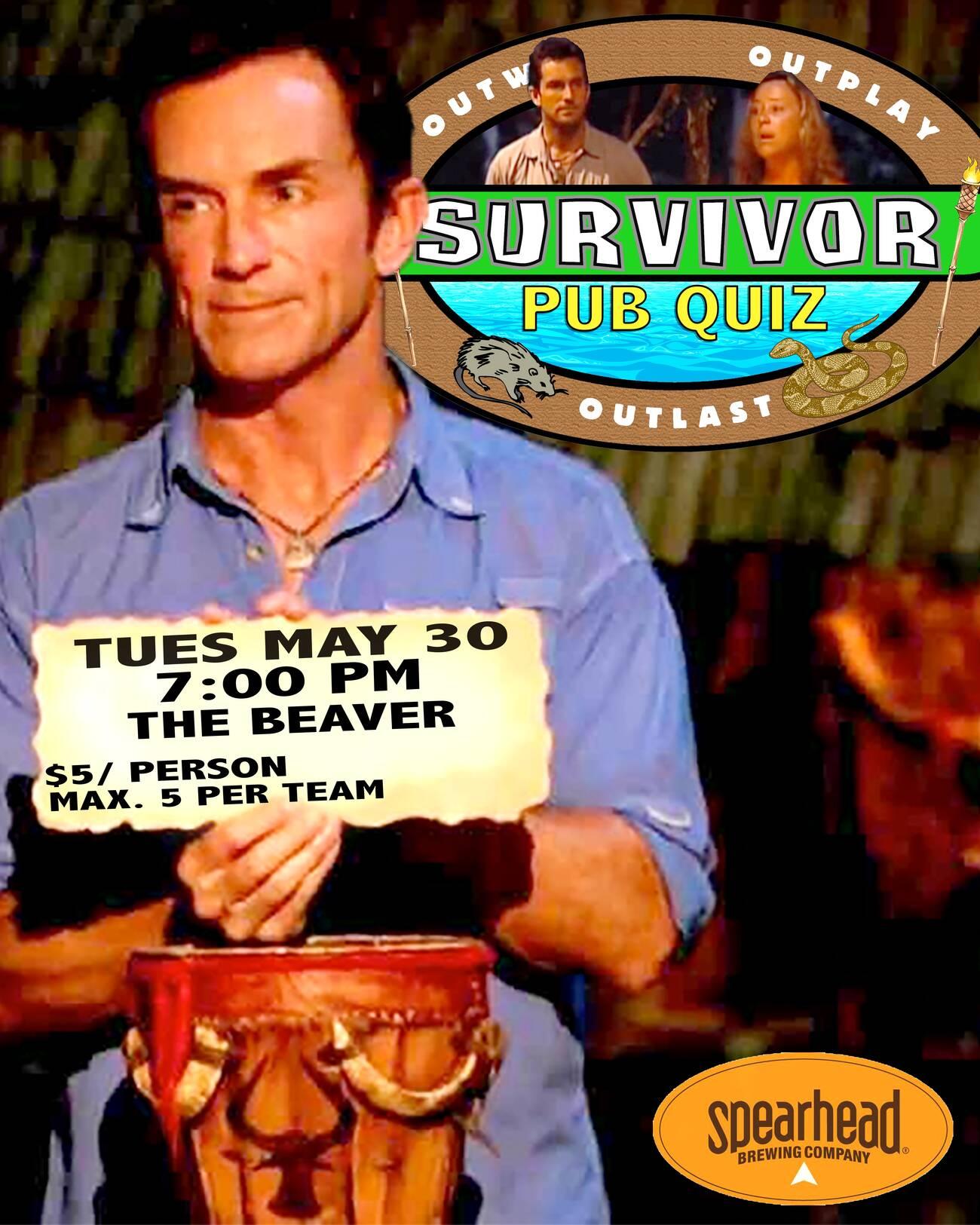 Survivor Pub Quiz