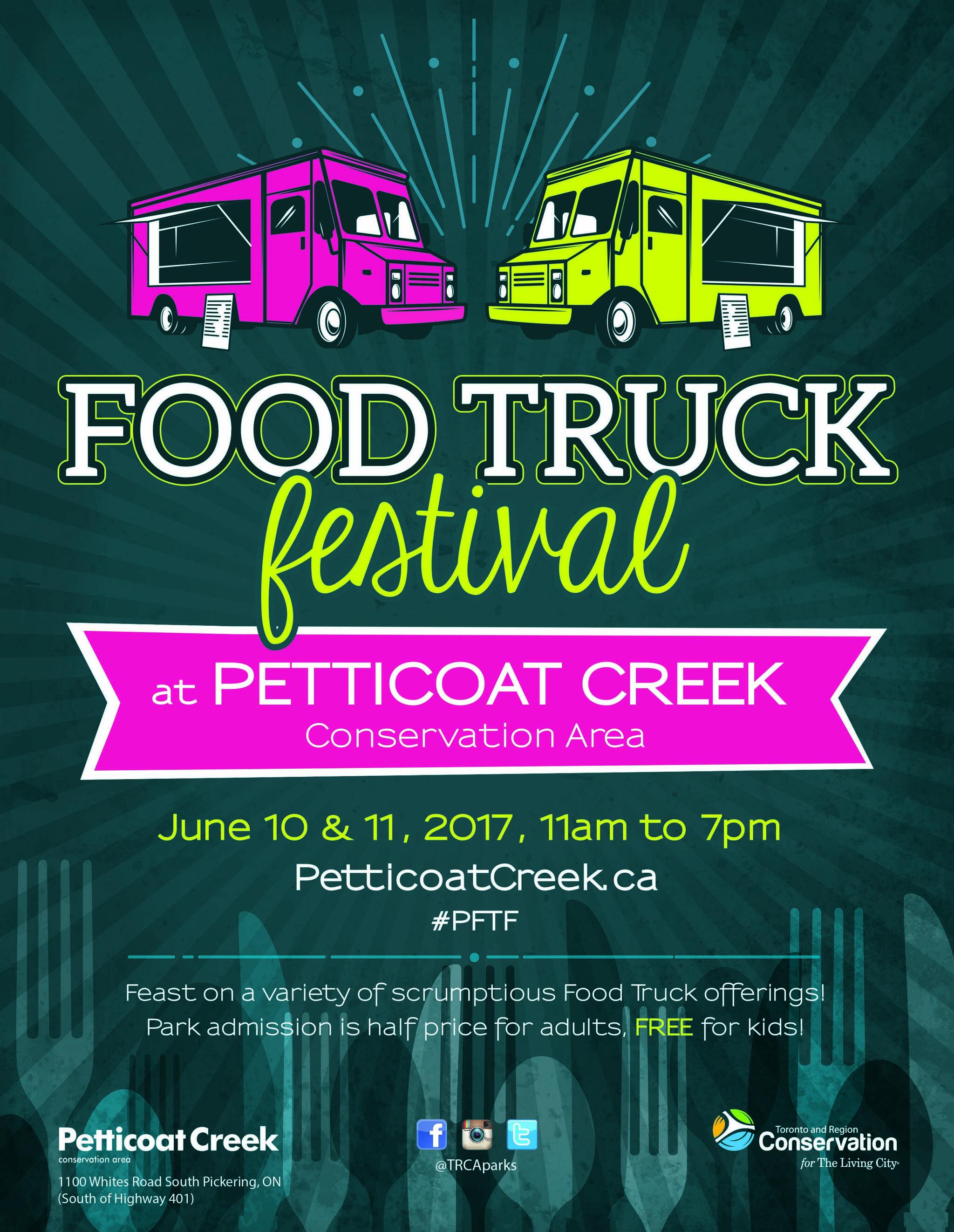Petticoat Creek Food Truck Festival