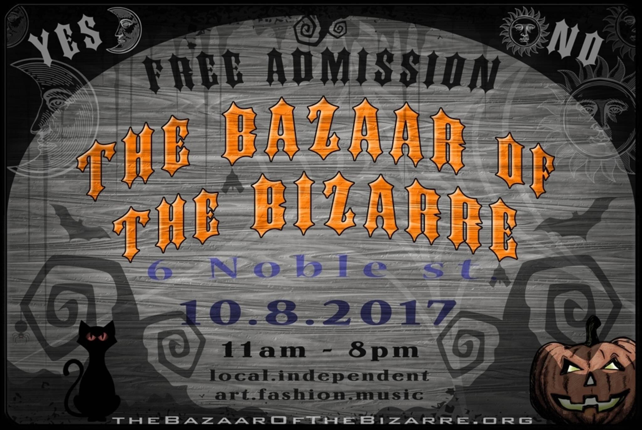 the bazaar of the bizarre halloween 2017
