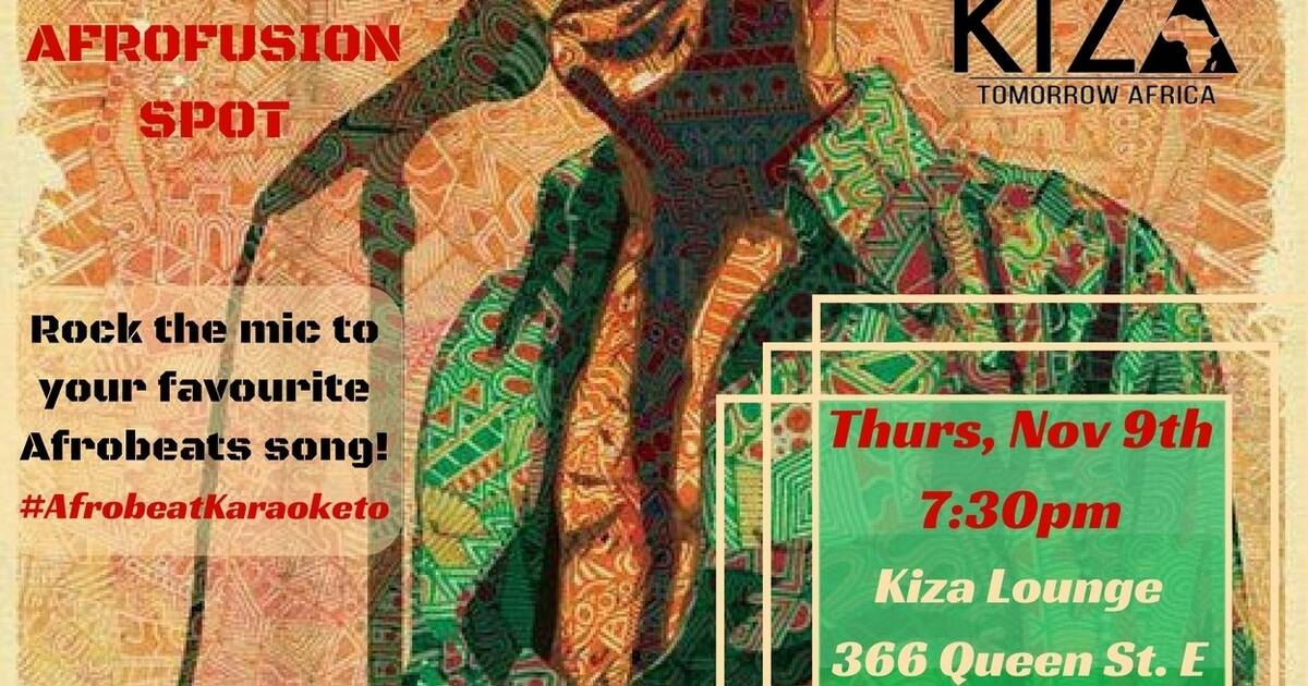 The AfroFusion Spot: Afrobeat Karaoke