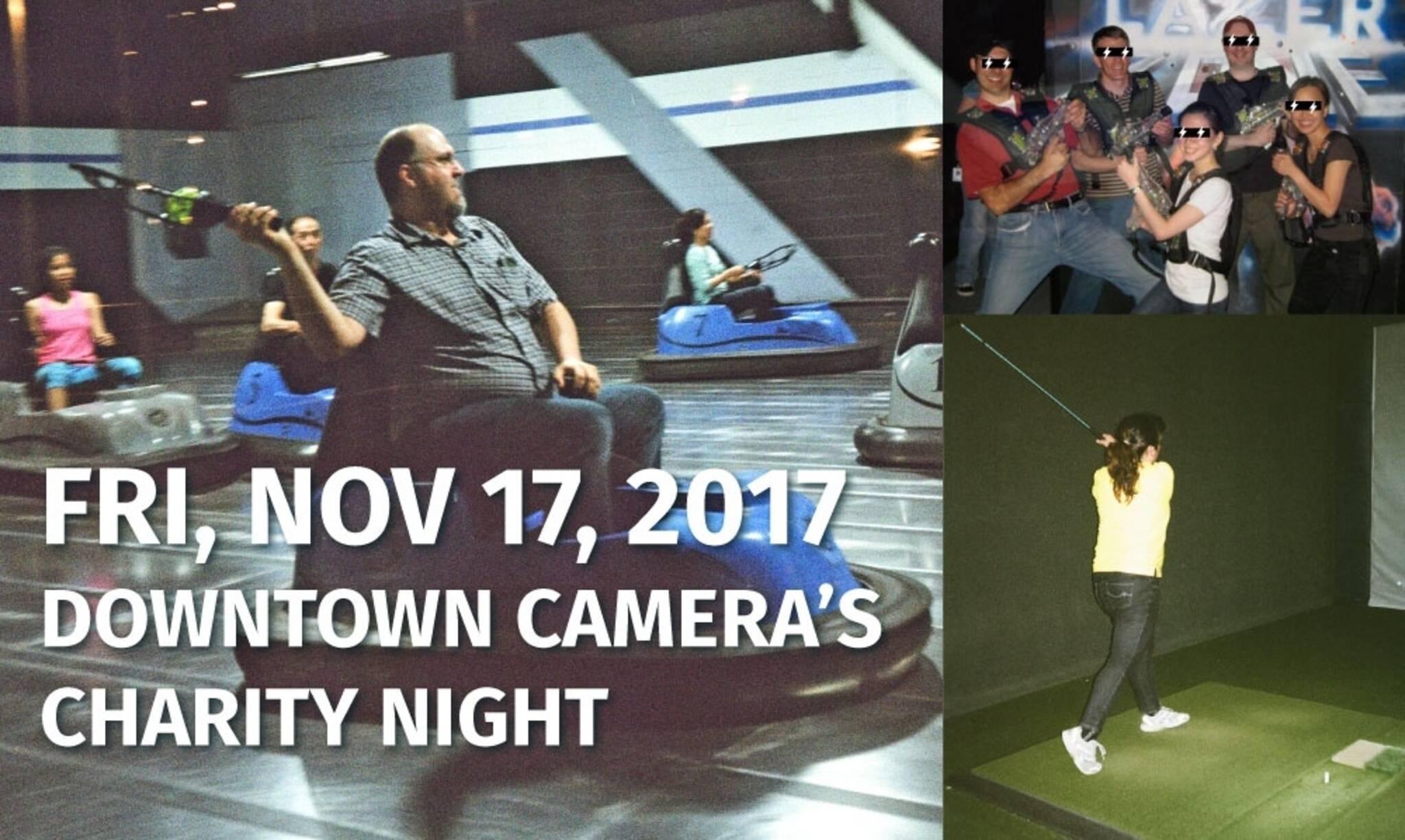 Downtown Camera's Charity Night - Nov 17-17