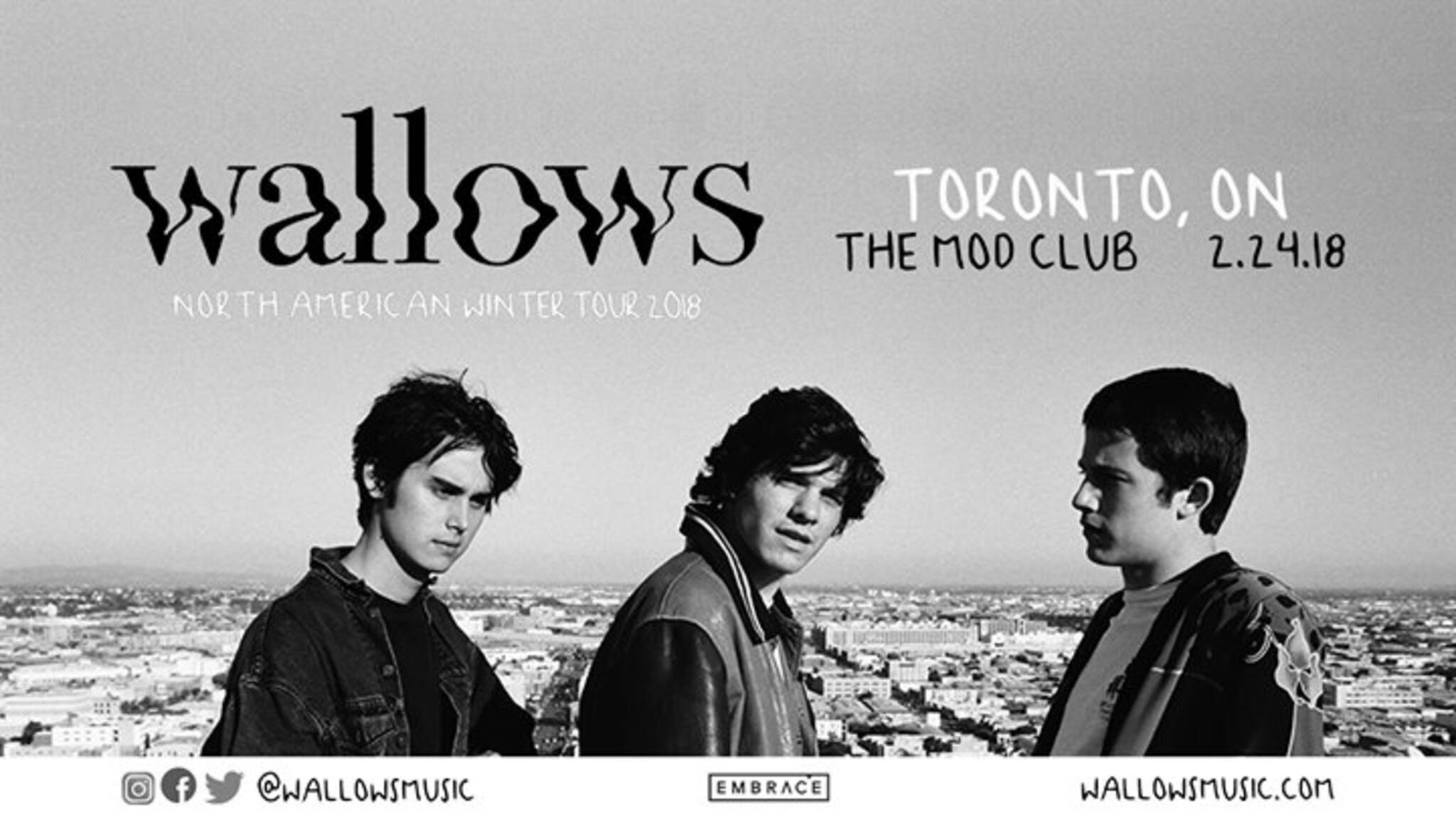 Wallows At The Mod Club February 24