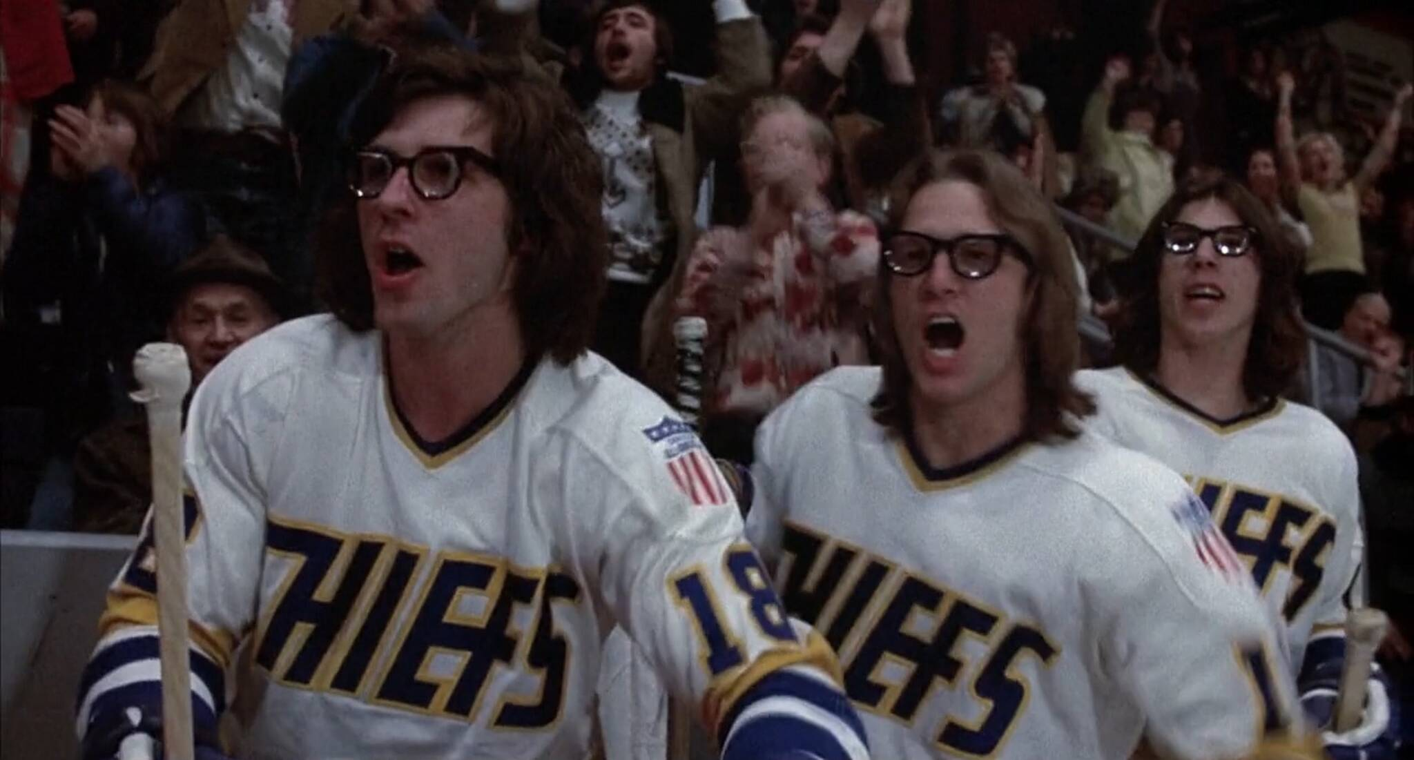 SLAP SHOT with The Hanson Brothers in attendance @ The Royal  SLAP SHOT with ...