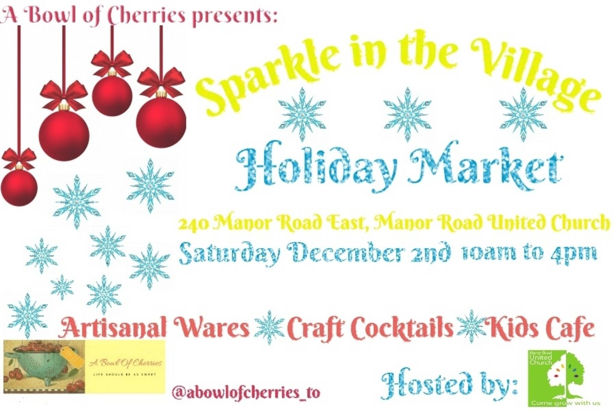 Sparkle In The Village Holiday Market