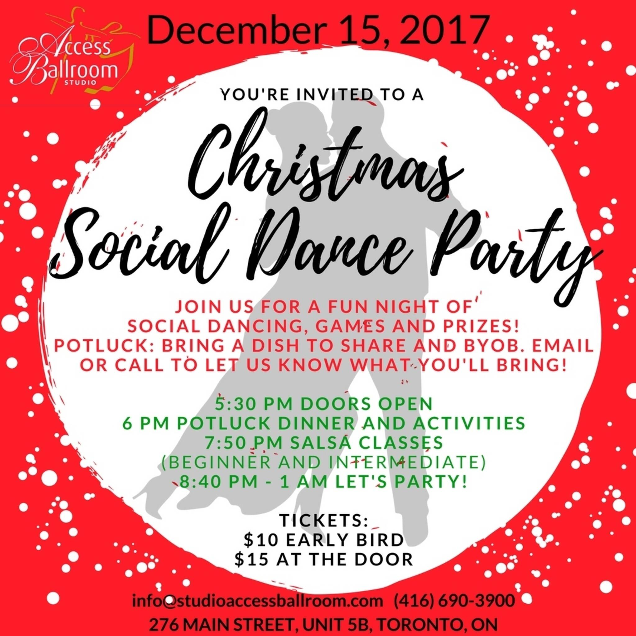 ABS - Christmas Social Dance Party