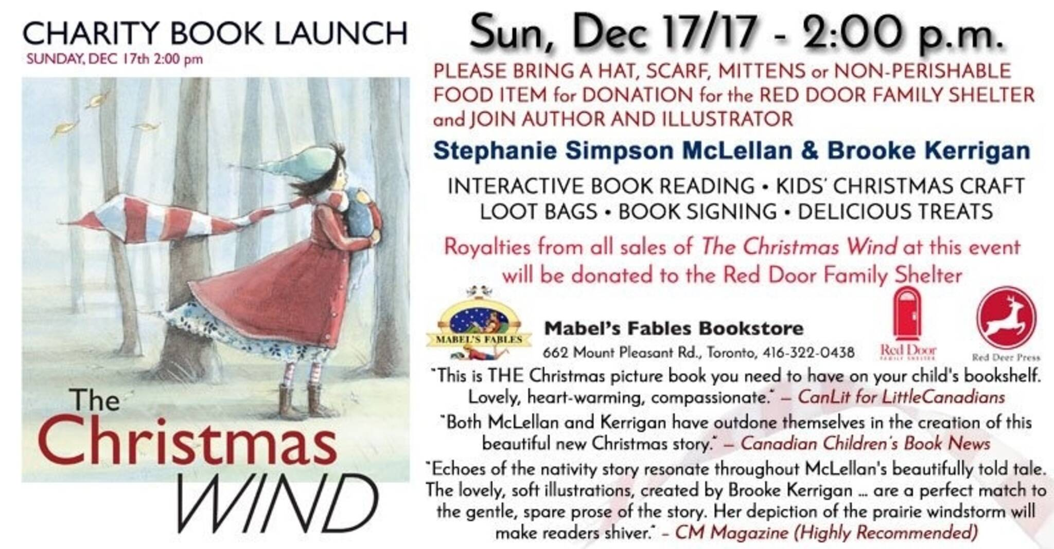 Charity Book Launch