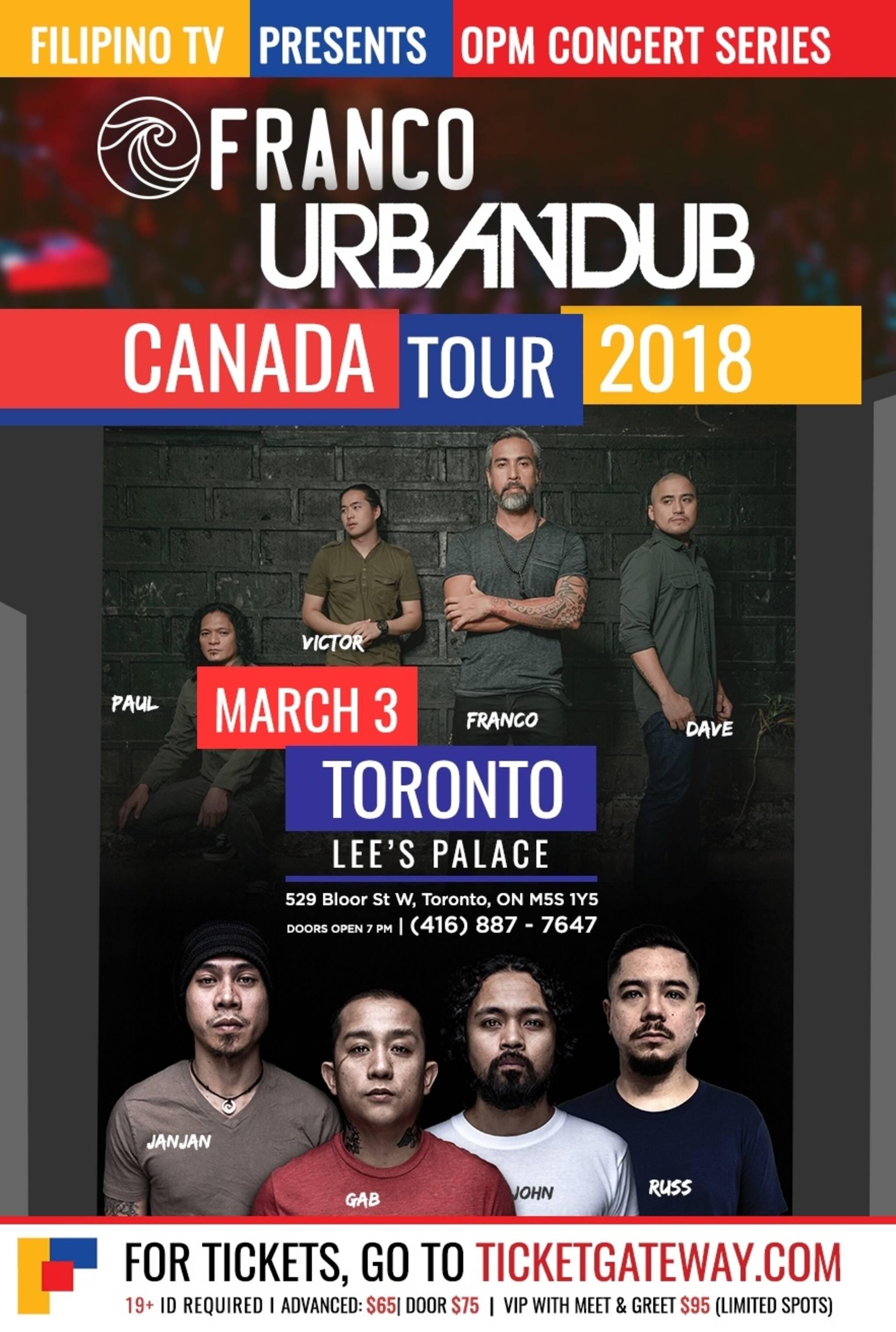 Urbandub Franco Live In Toronto