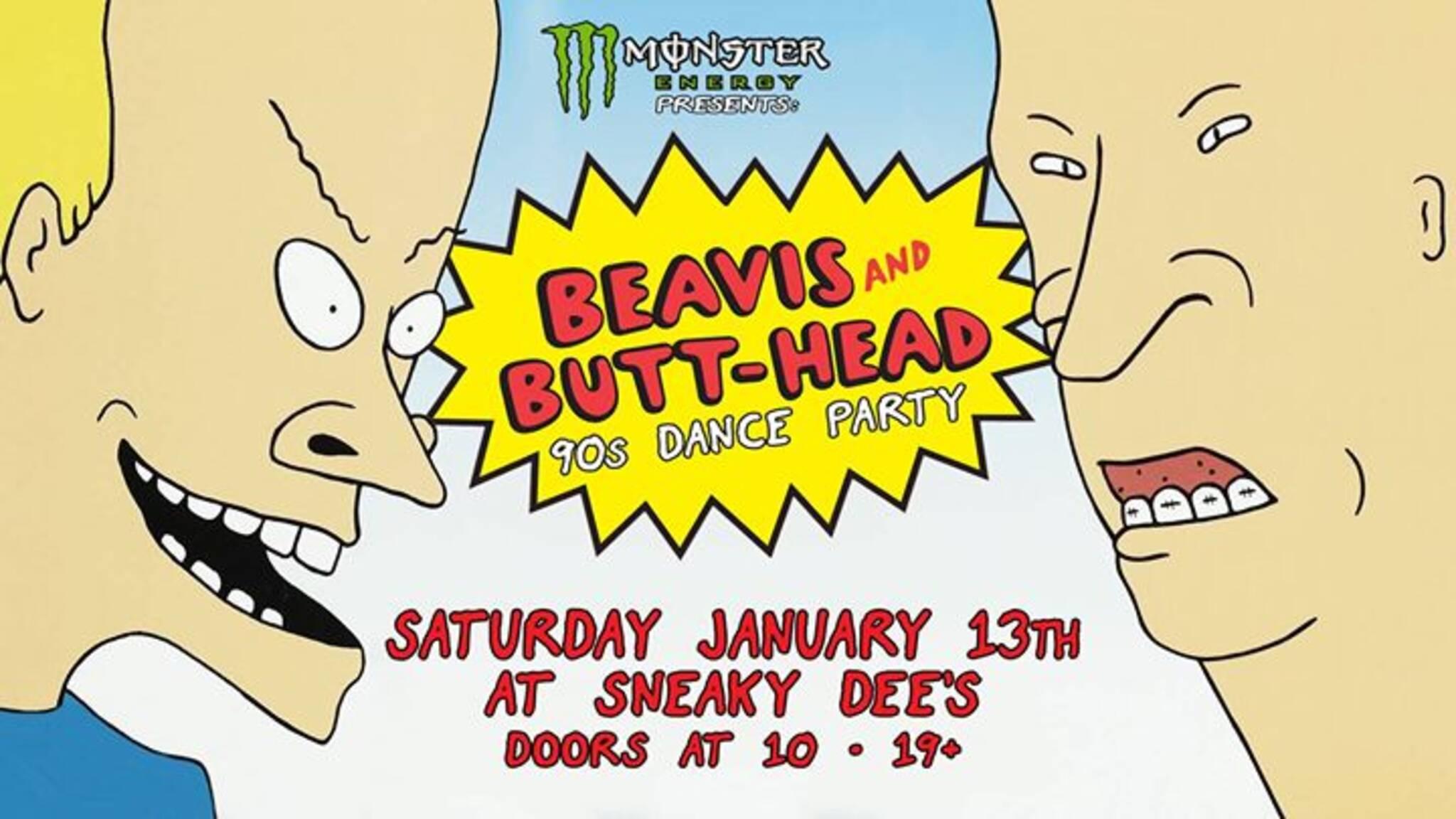 Beavis And Butt Head 90s Dance Party Sat Jan 13