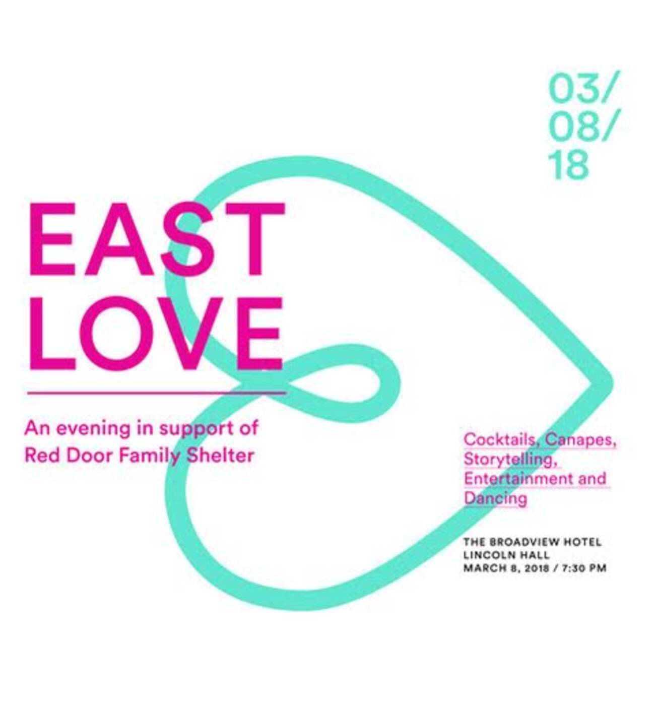 East Love An Evening Celebrating Resilience In Support Of Red Door