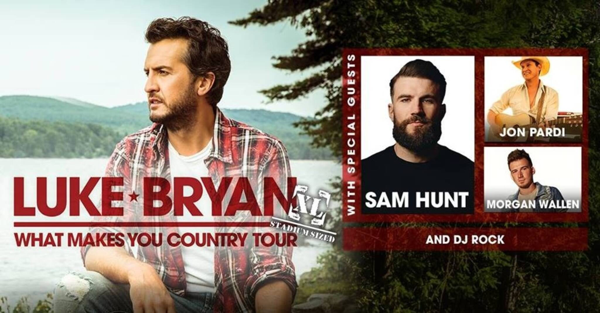 Luke Bryan and Sam Hunt Toronto concert at Rogers Centre