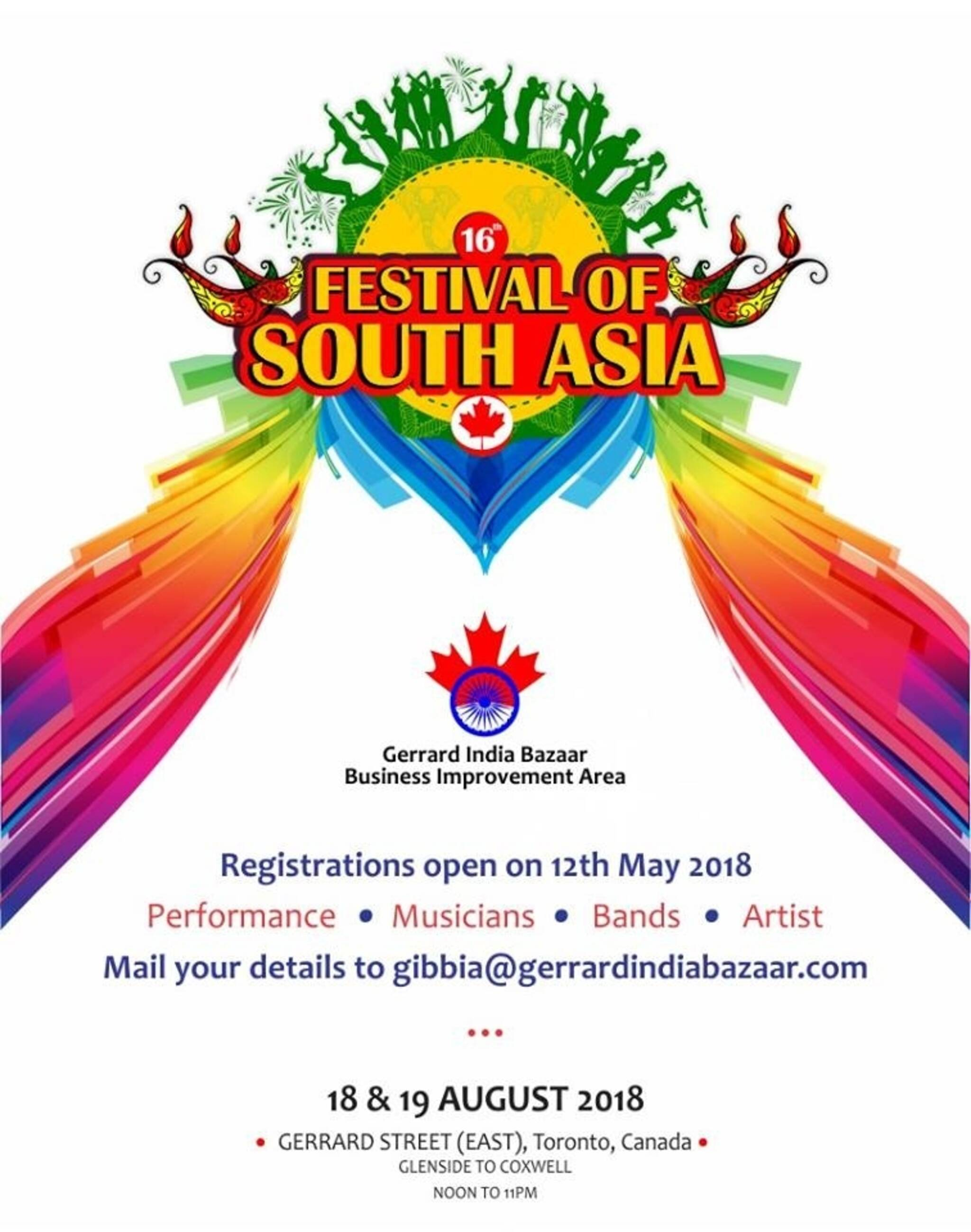 South asian events toronto