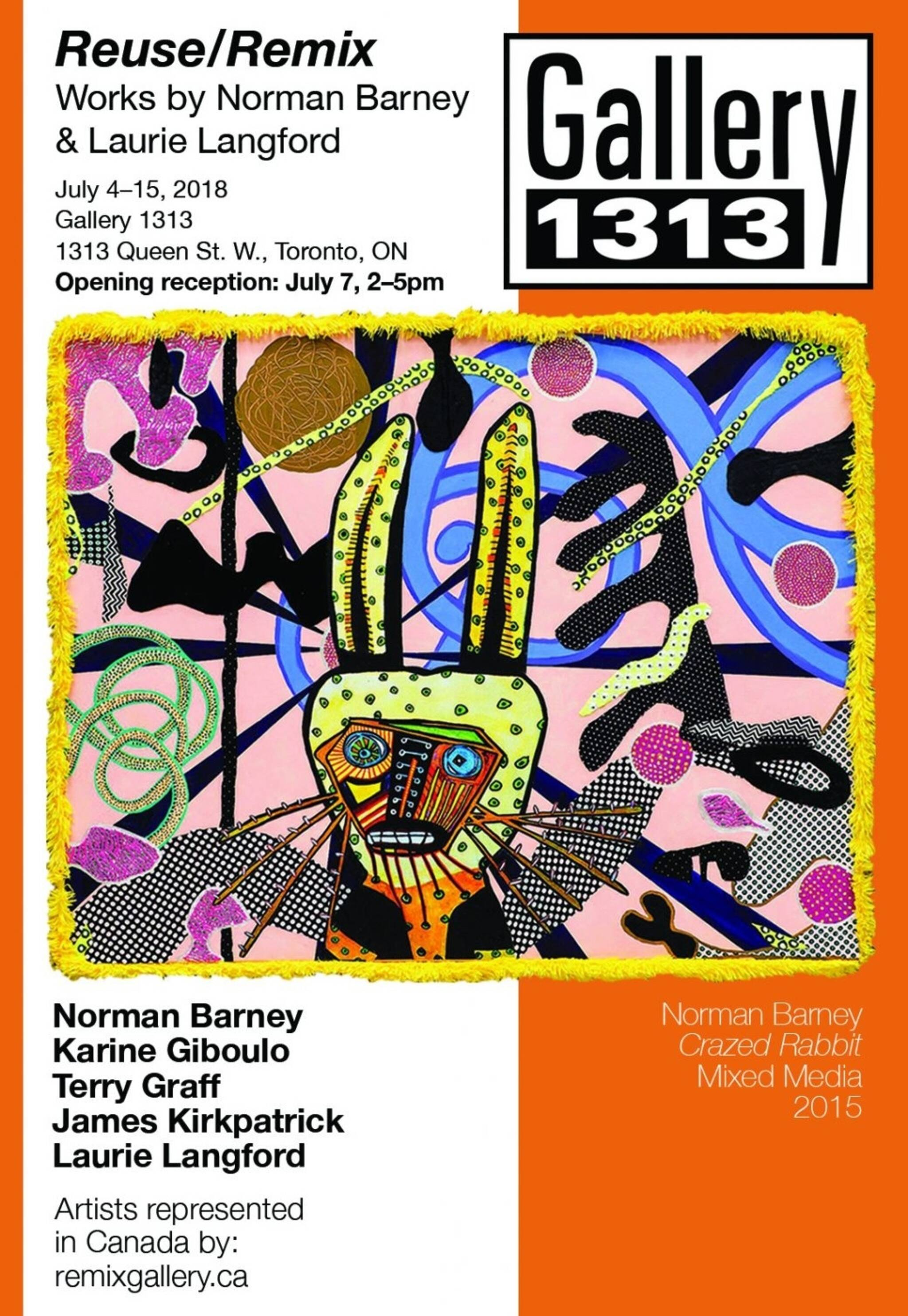 Norm Barney & Laurie Langford - REUSE & REMIX