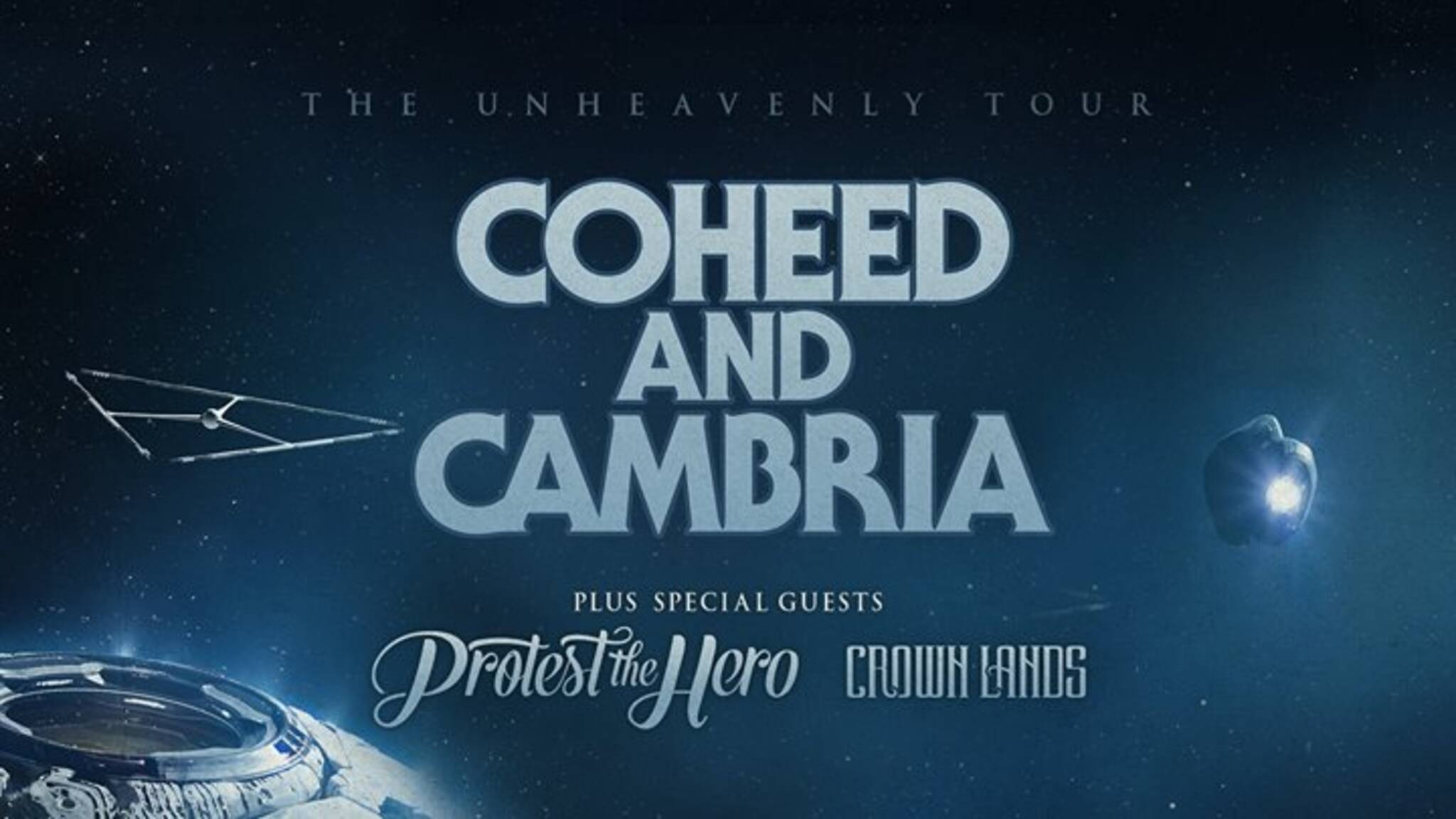 Coheed And Cambria Unheavenly Tour W Protest The Hero Crown Lands
