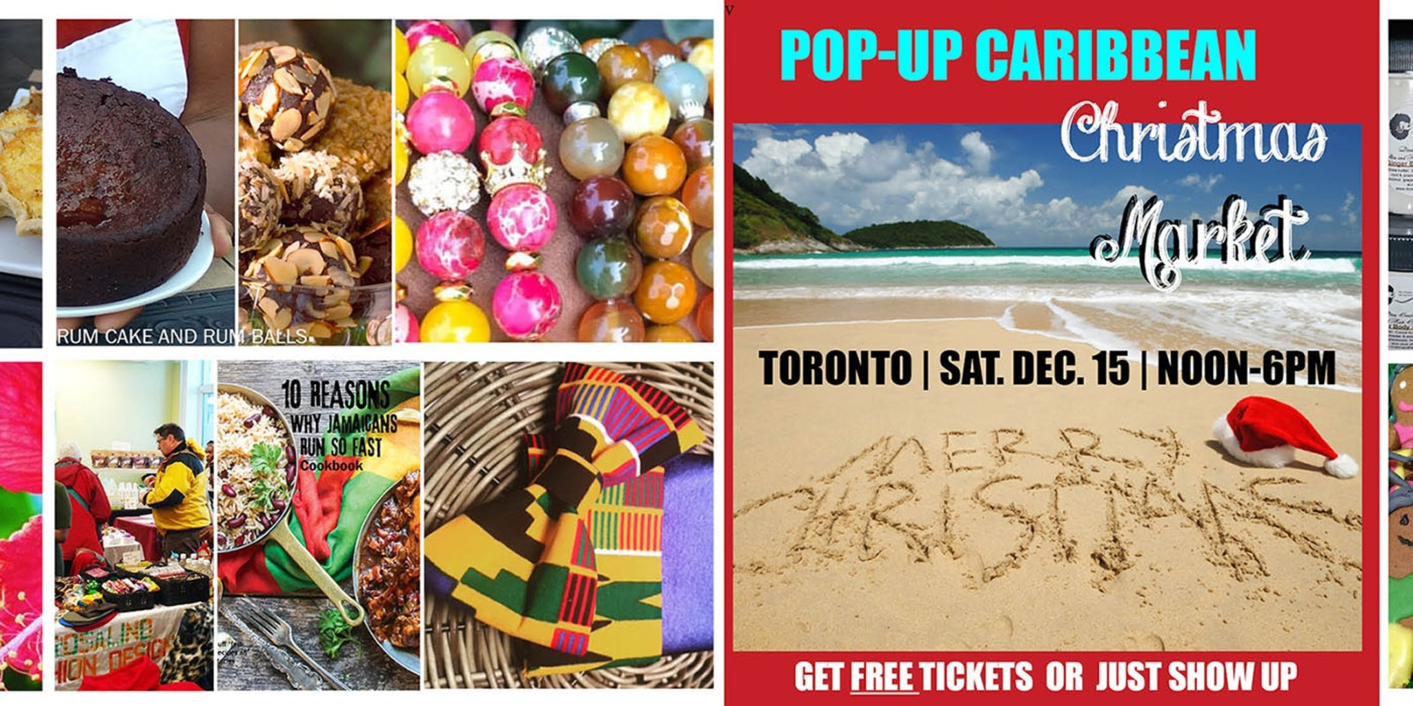 Image result for caribbean christmas market toronto