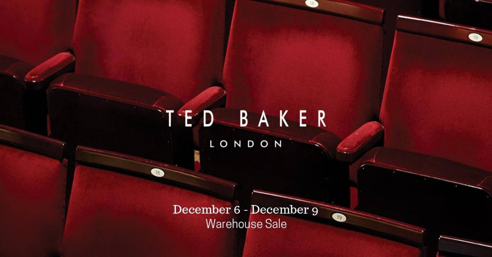 8bdd5fc03 Ted Baker Warehouse Sale
