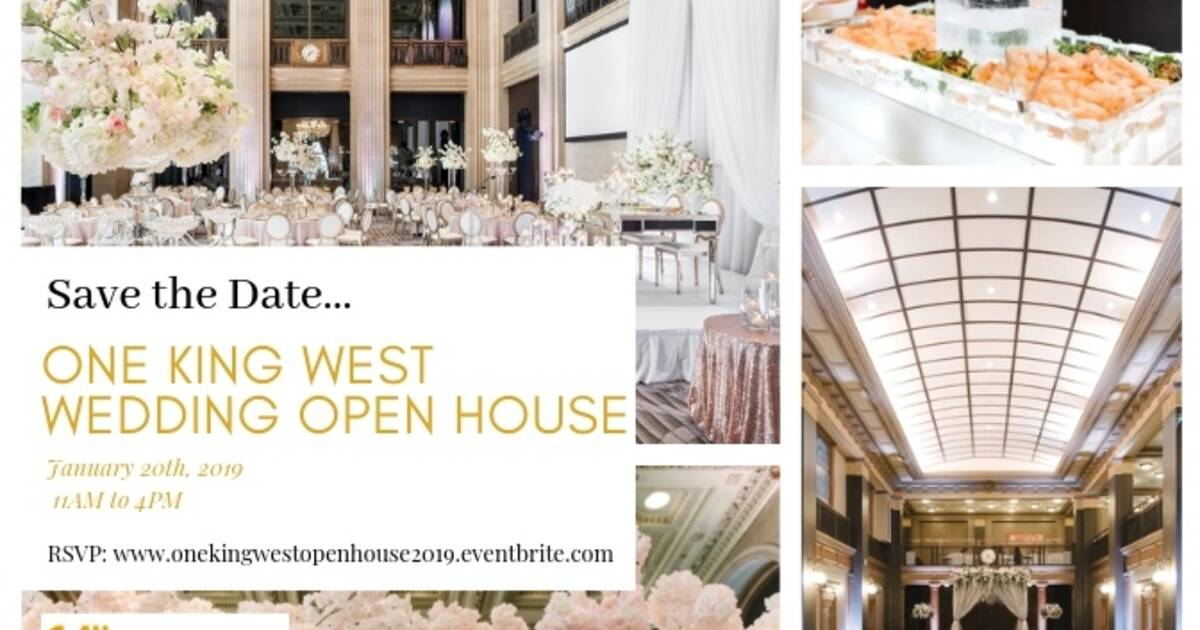 One King Wests Wedding Open House