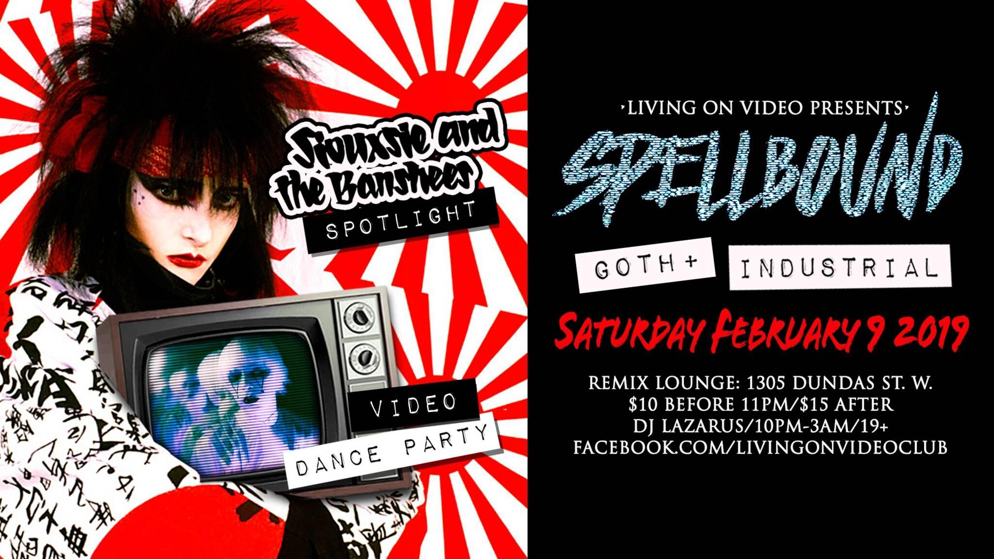 Spellbound Goth Industrial Video Dance Party W Siouxsie Spotlight