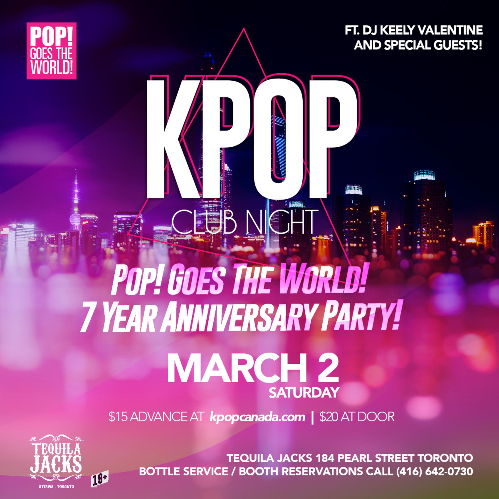 Kpop Club Night - 7 Year Anniversary