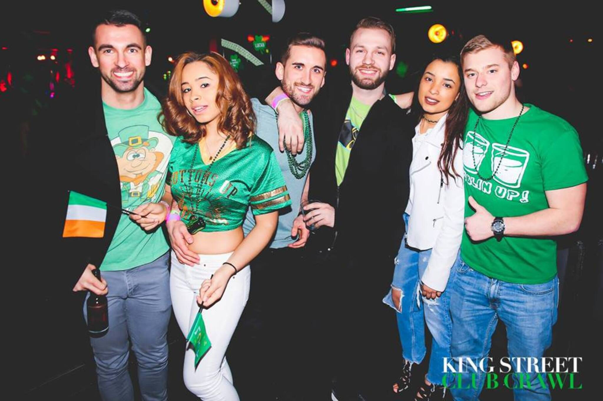 Toronto St  Pattys Day King Street Club Crawl 2019