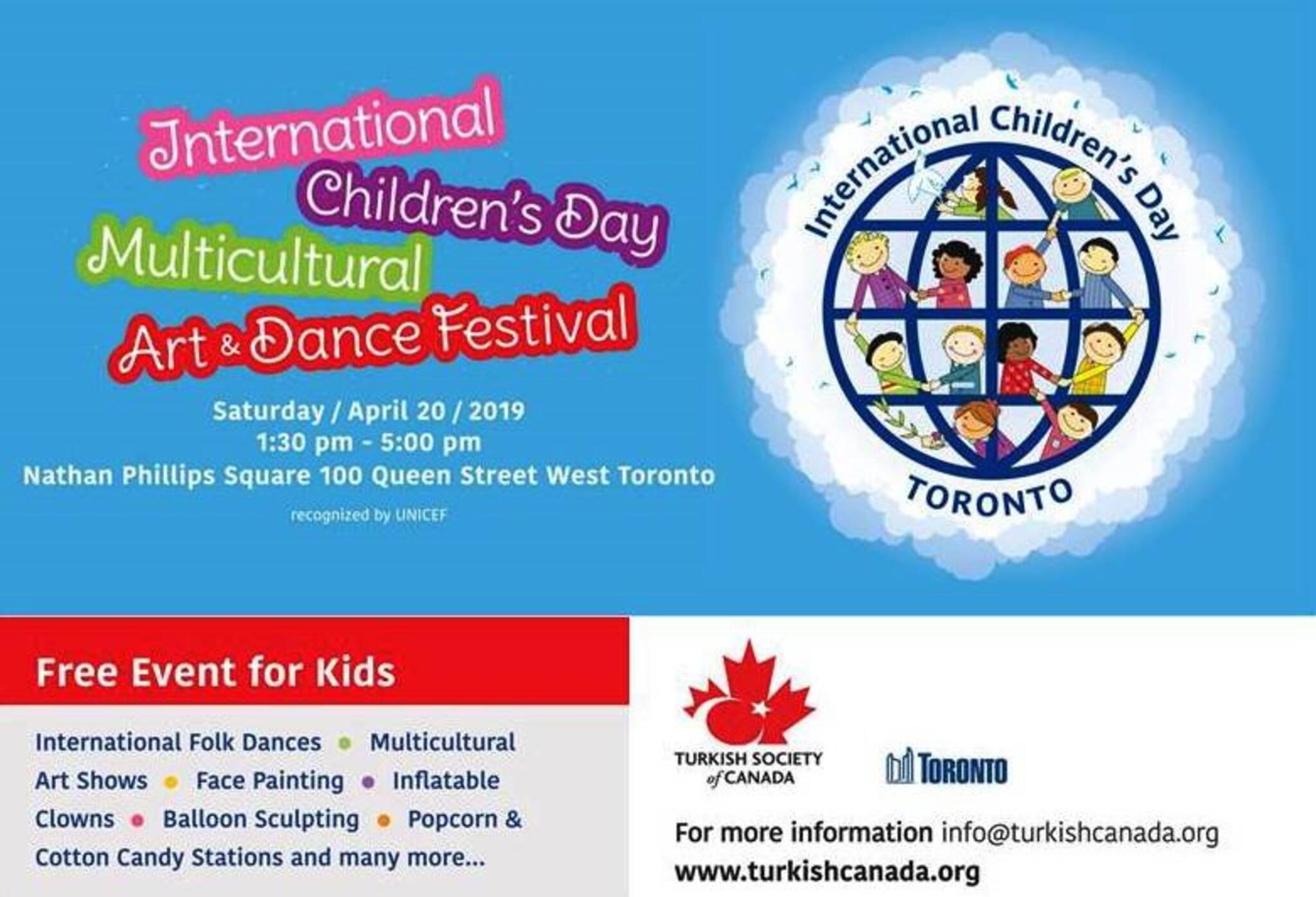 INTERNATIONAL CHILDREN'S DAY MULTICULTURAL DANCE AND ART FESTIVAL