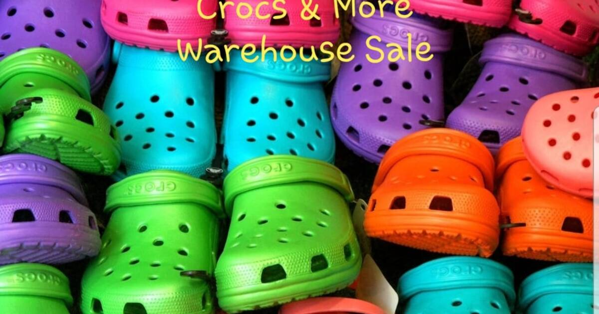 c77c53512 Crocs Warehouse Sale