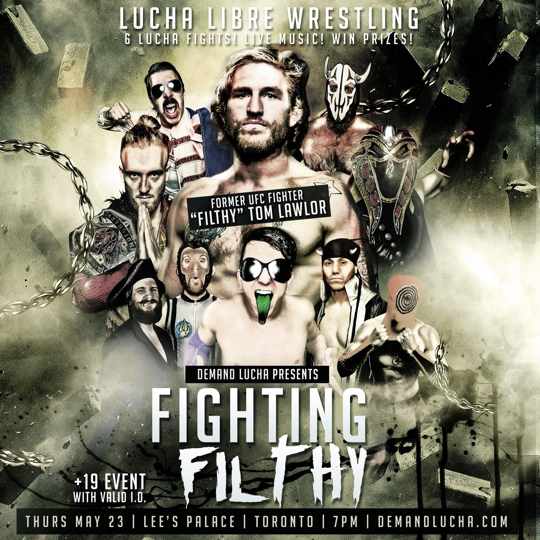 MMA vs Lucha Libre: Fighting Filthy